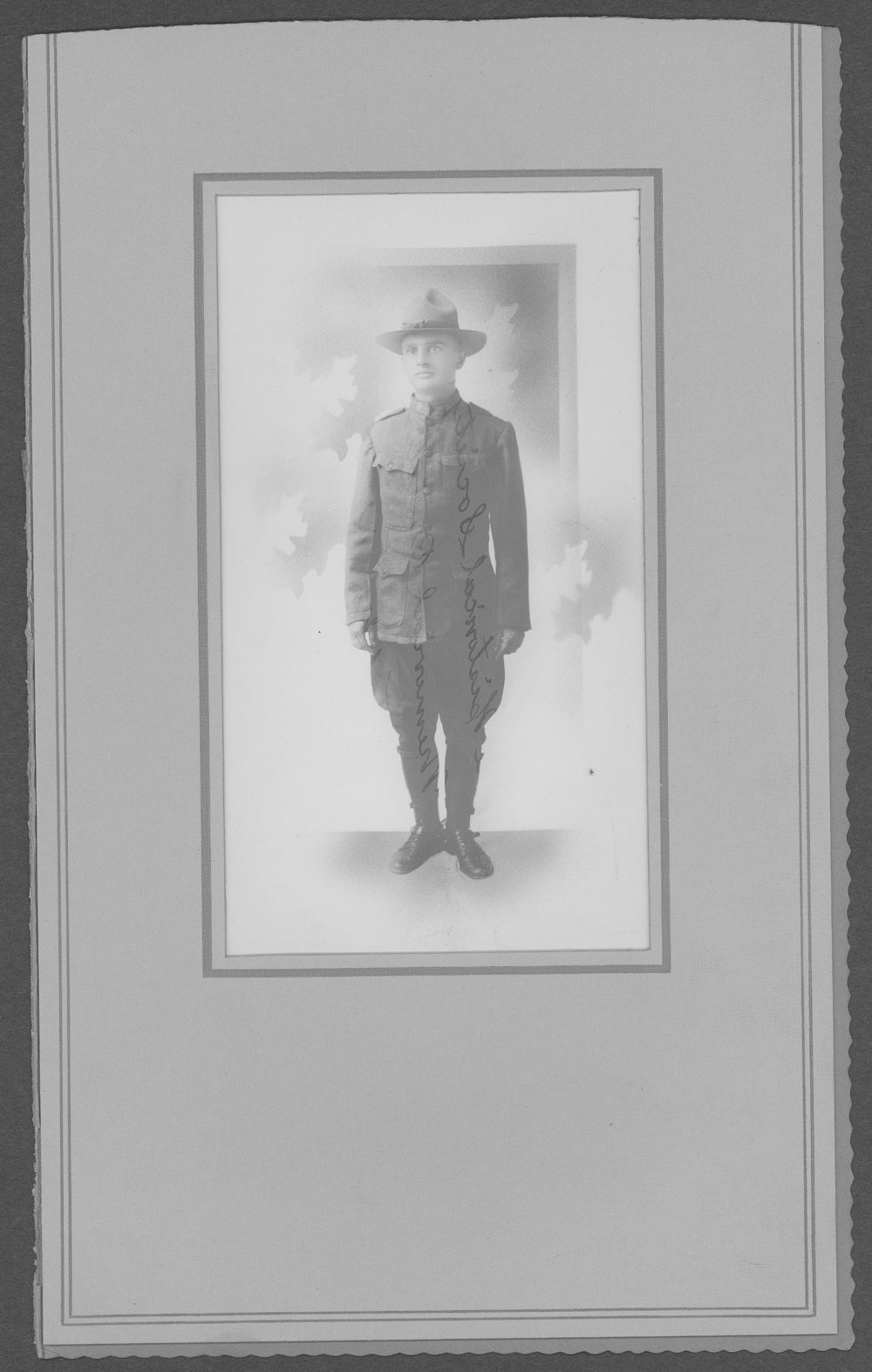 John Cary, World War I soldier - Photograph