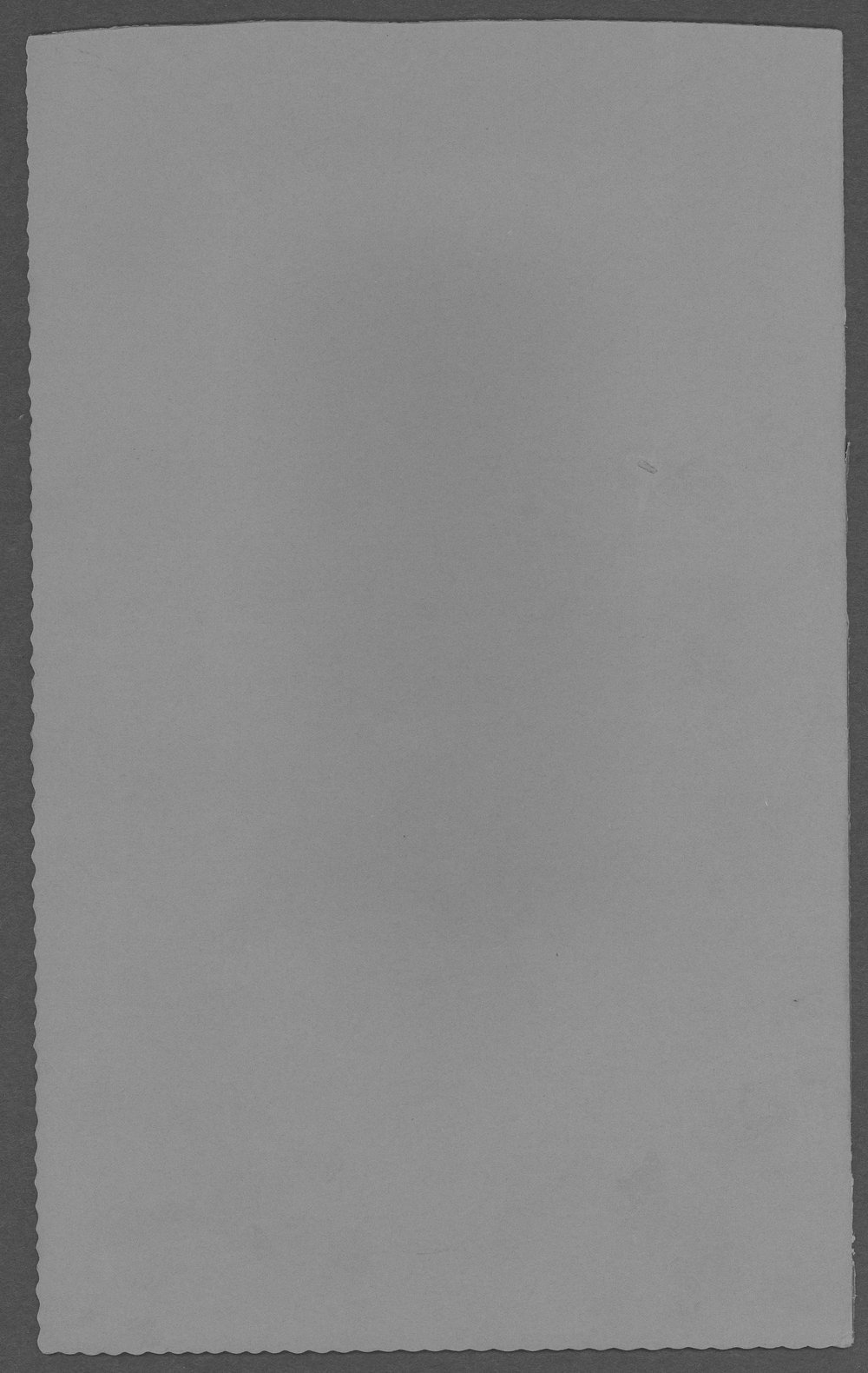 John Cary, World War I soldier - Back Cover of photograph