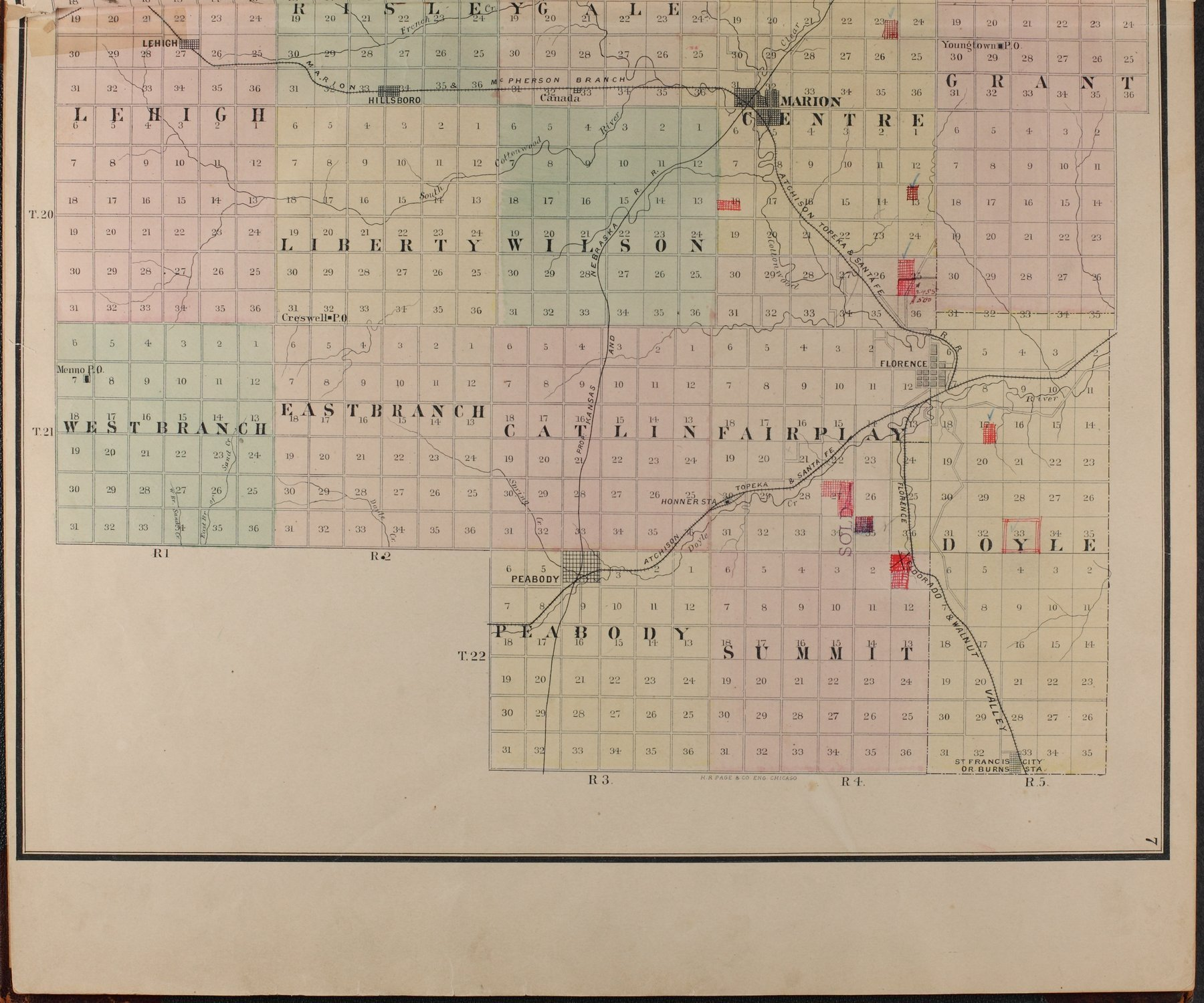 Atlas of Marion County, Kansas - 7