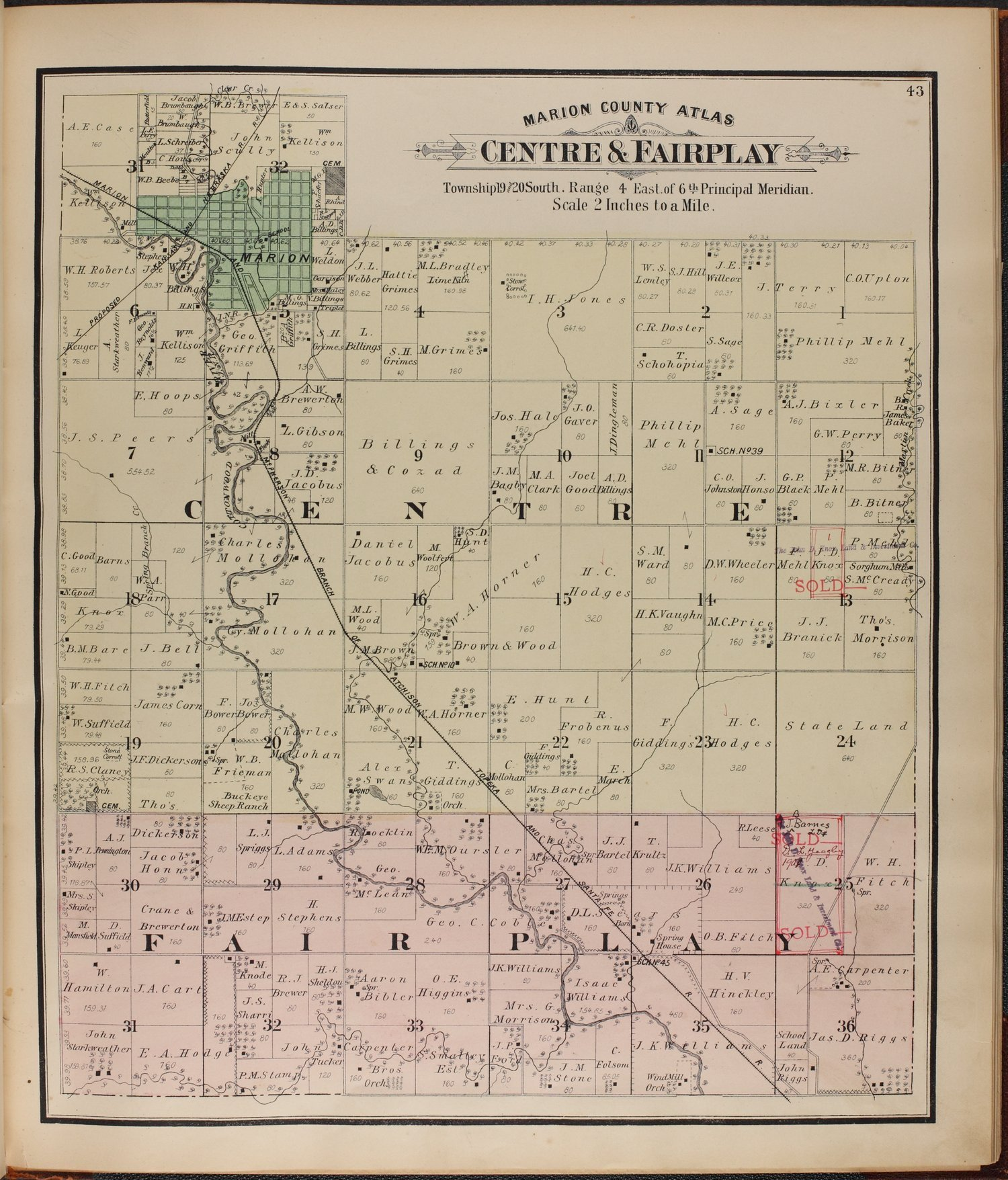 Atlas of Marion County, Kansas - 43