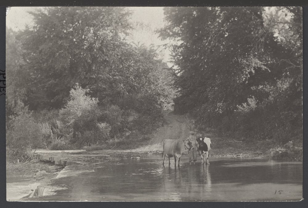 Old military crossing, Louisville, Kansas - 1