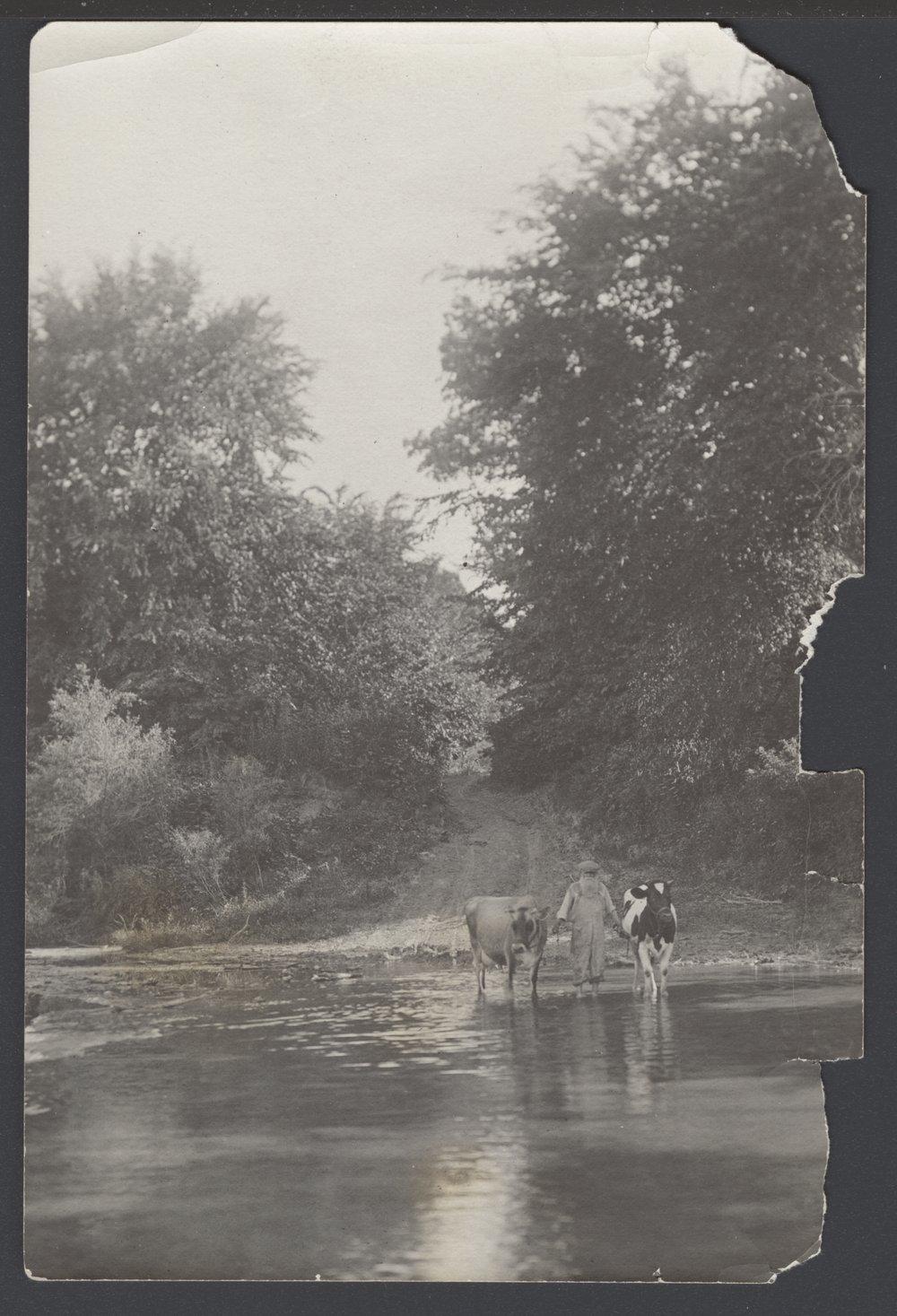 Old military crossing, Louisville, Kansas - 3