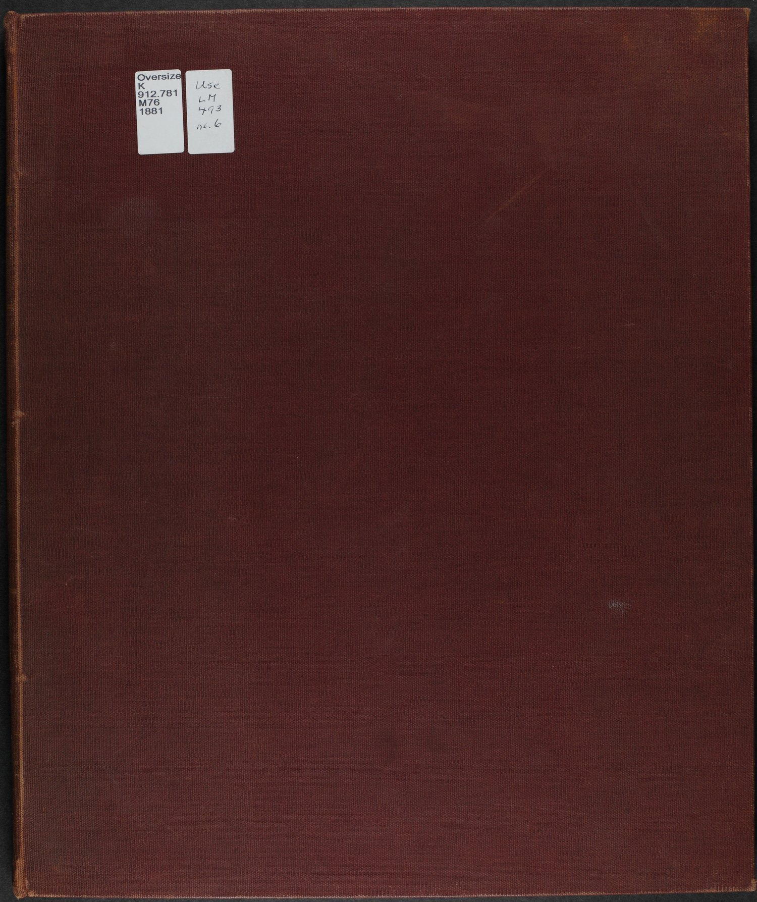 Historical atlas of Montgomery County, Kansas - Front Cover