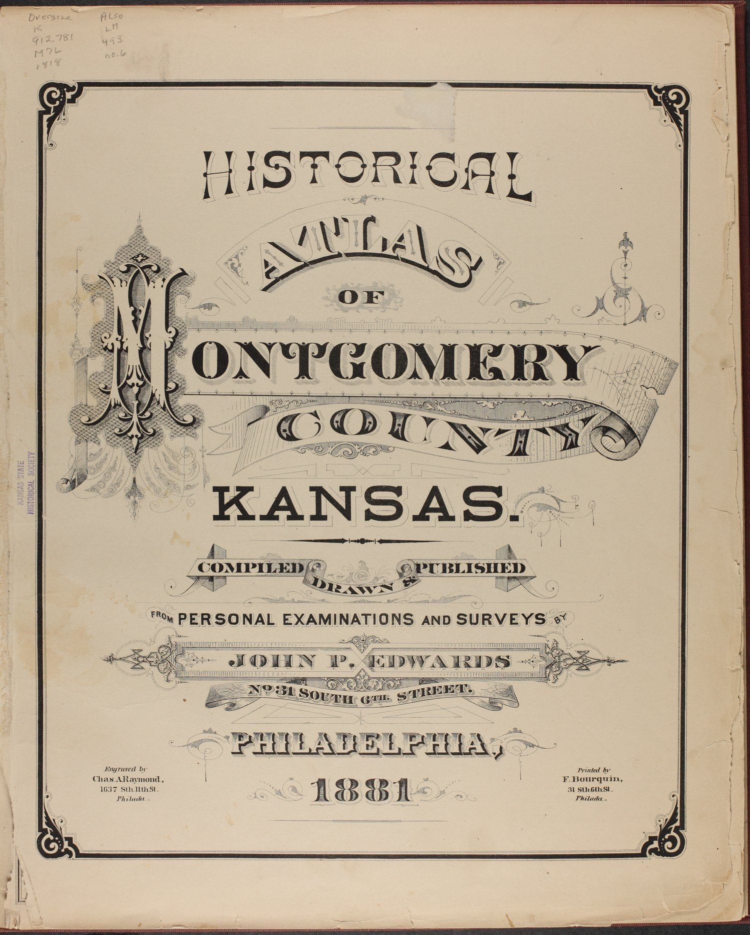 Historical atlas of Montgomery County, Kansas - Title Page