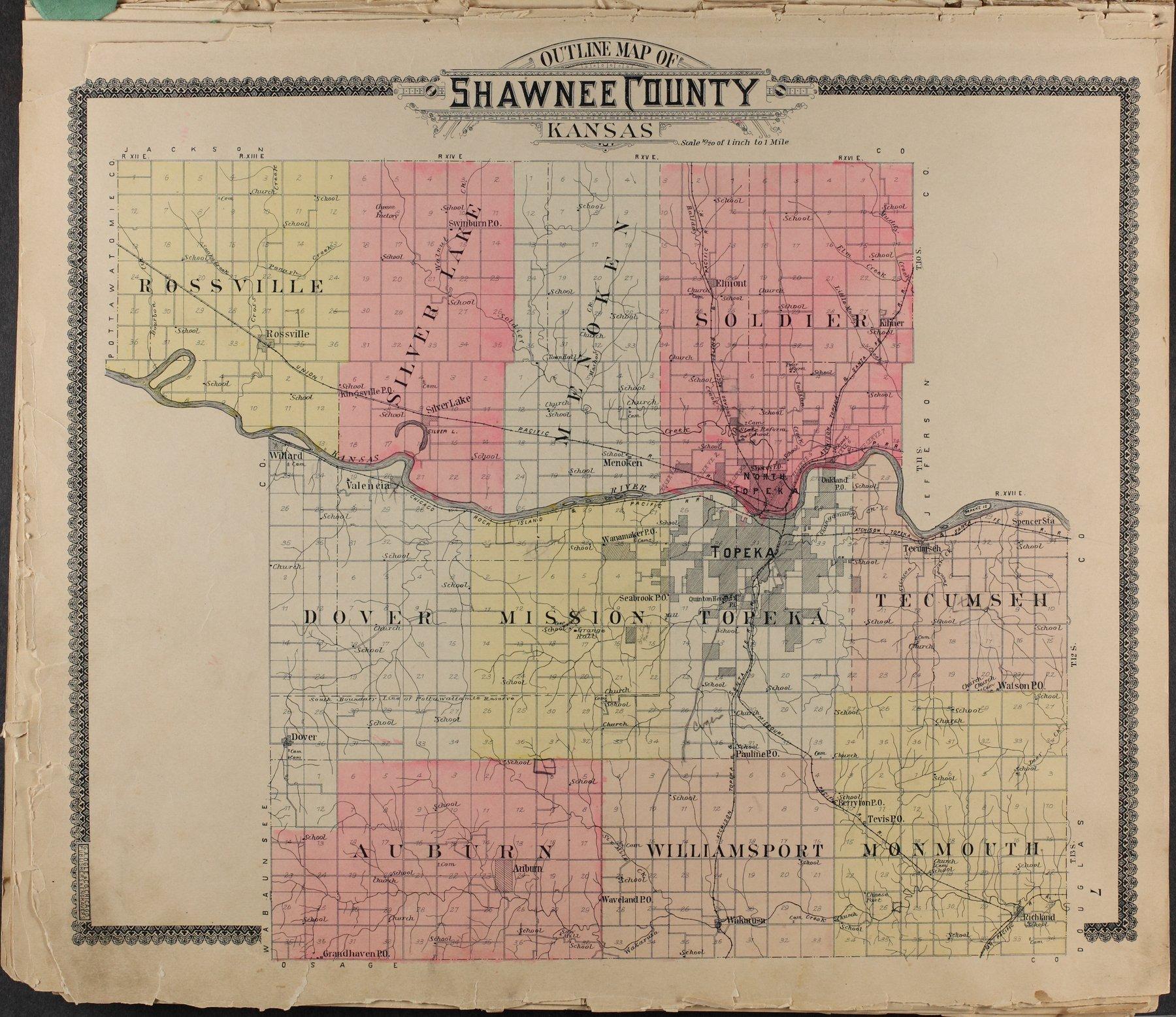 Standard atlas of Shawnee County, Kansas - 7