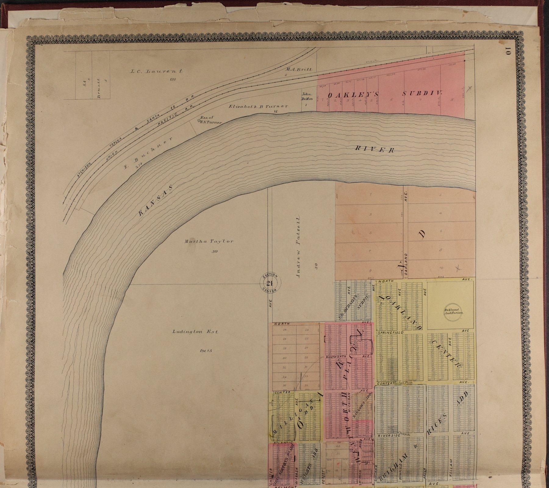 Standard atlas of Shawnee County, Kansas - 10