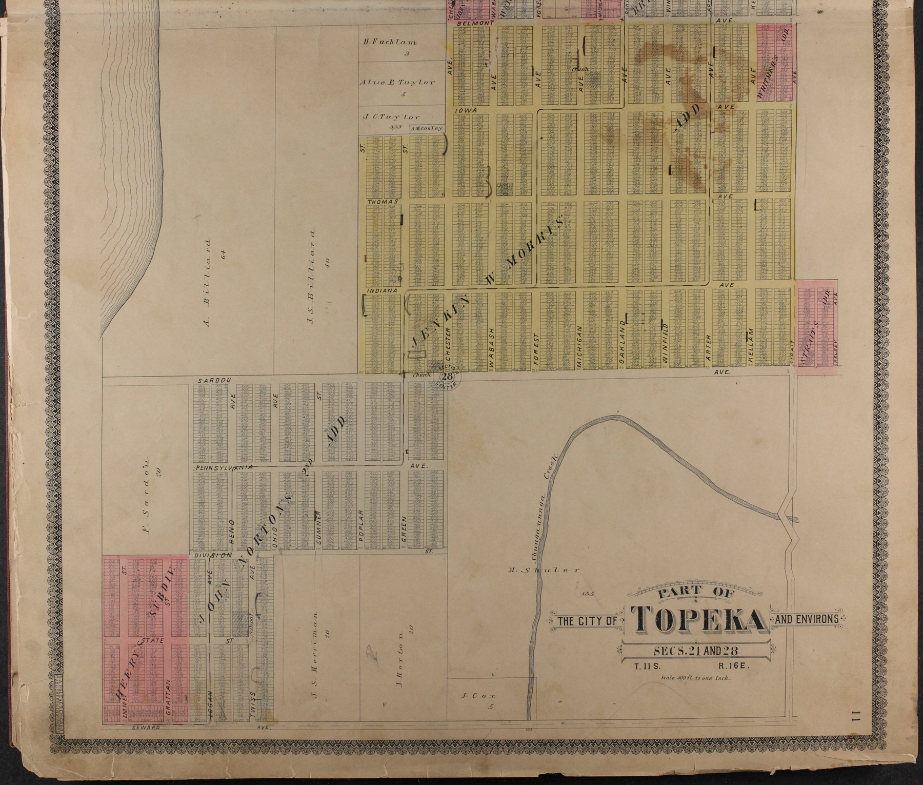 Standard atlas of Shawnee County, Kansas - 11