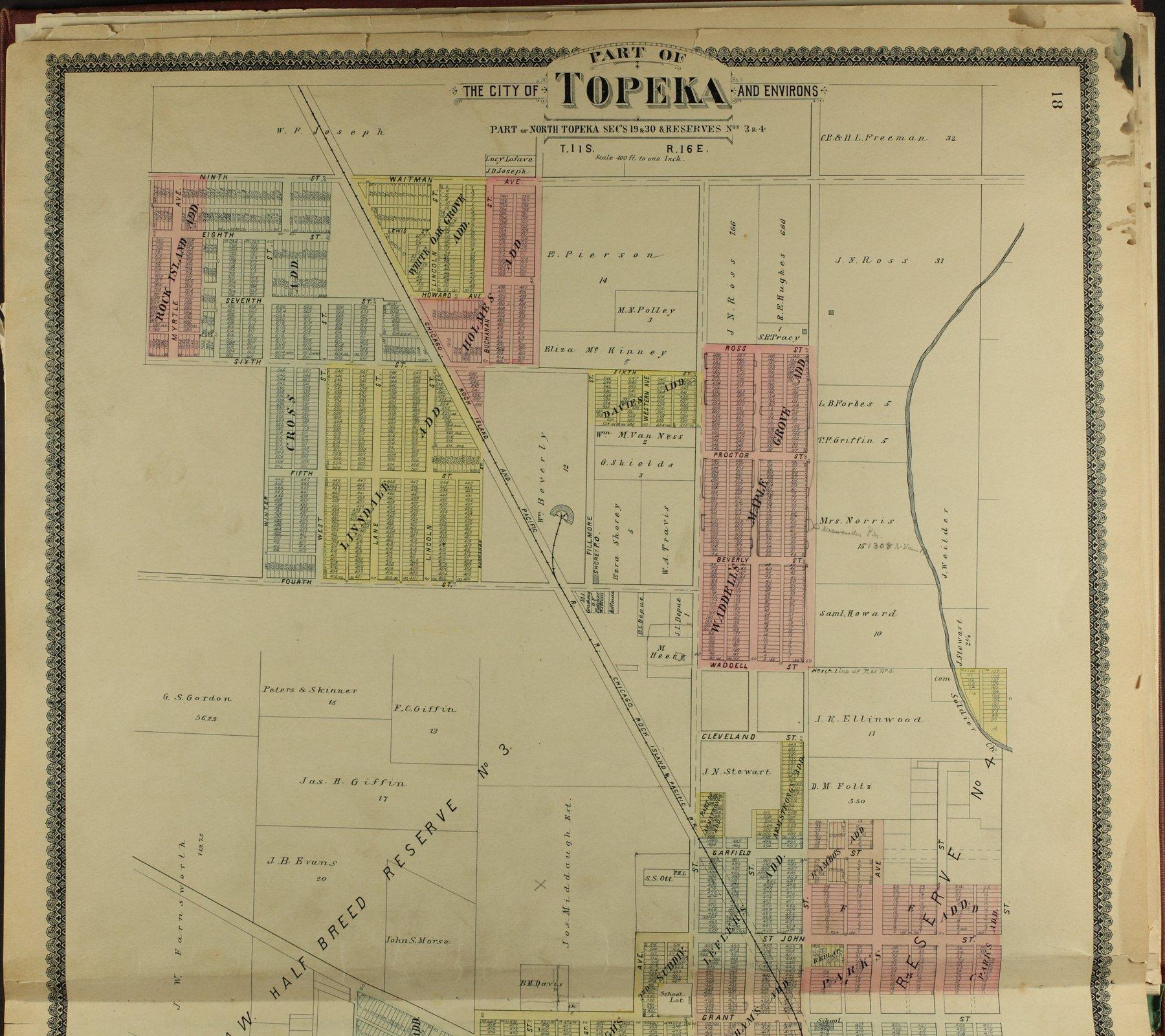 Standard atlas of Shawnee County, Kansas - 18
