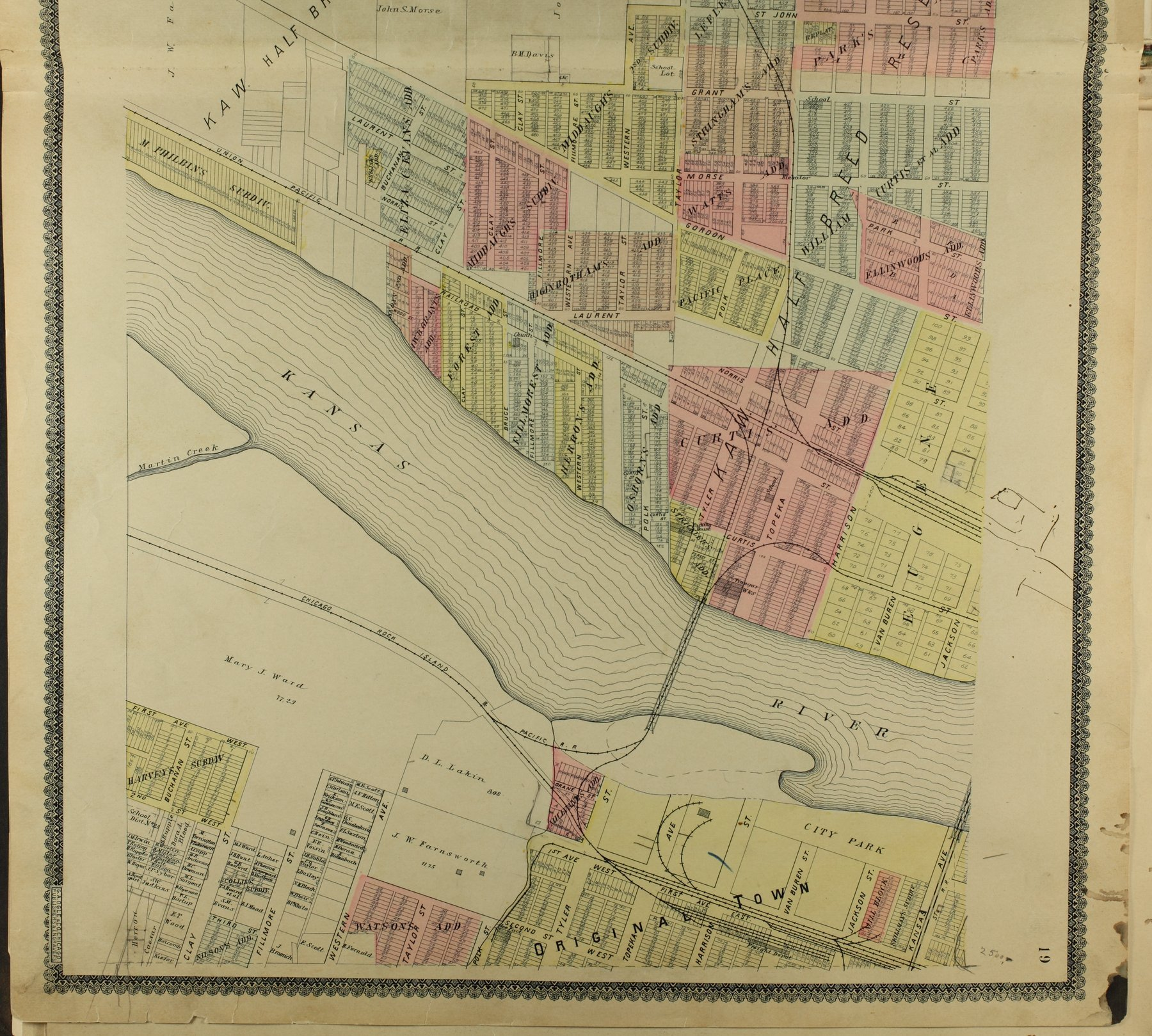Standard atlas of Shawnee County, Kansas - 19