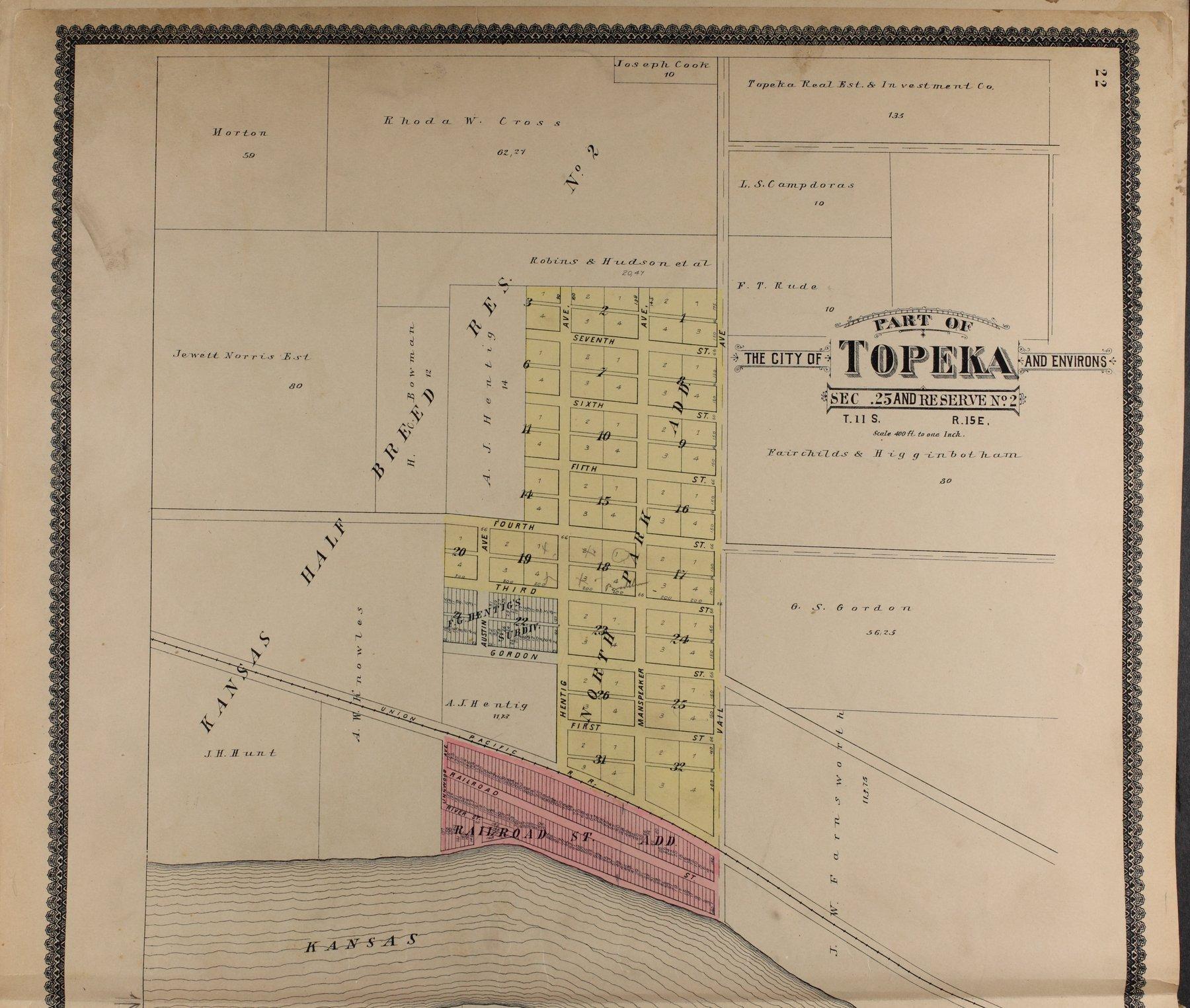 Standard atlas of Shawnee County, Kansas - 22