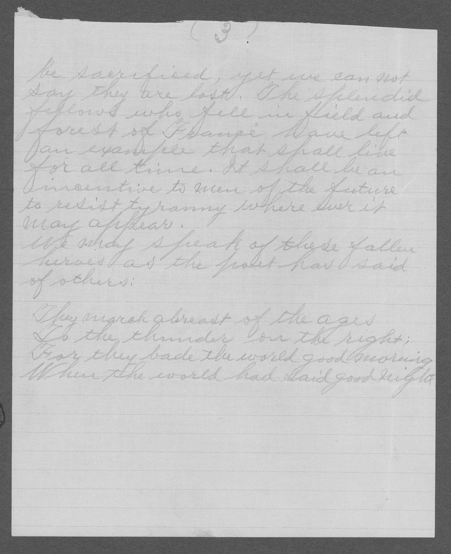 Ulysses Grant Cassel, World War I soldier - 7