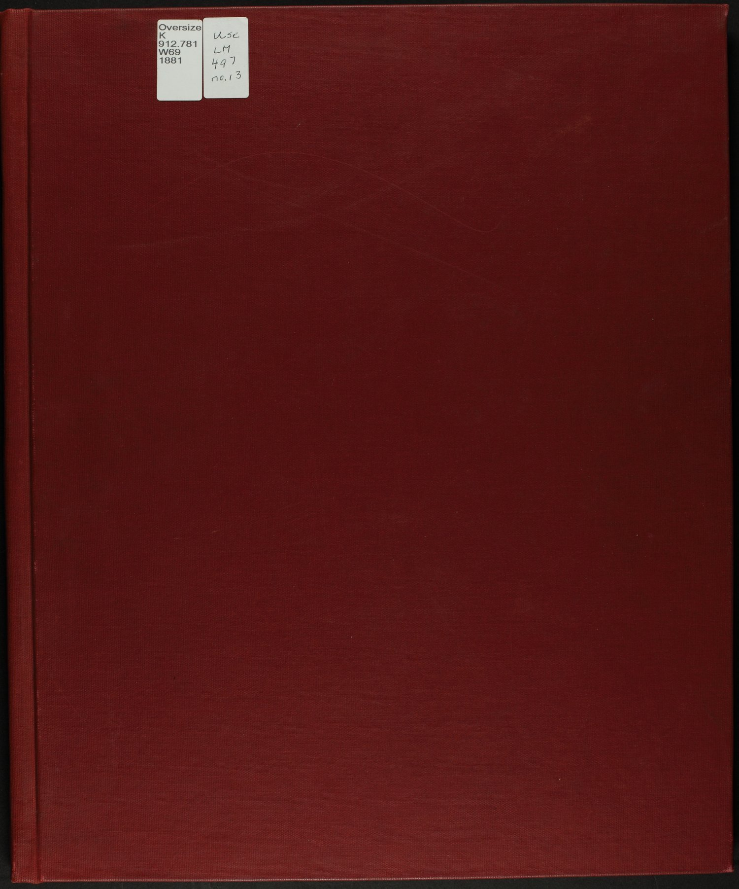 Historical atlas of Wilson County, Kansas - Front Cover