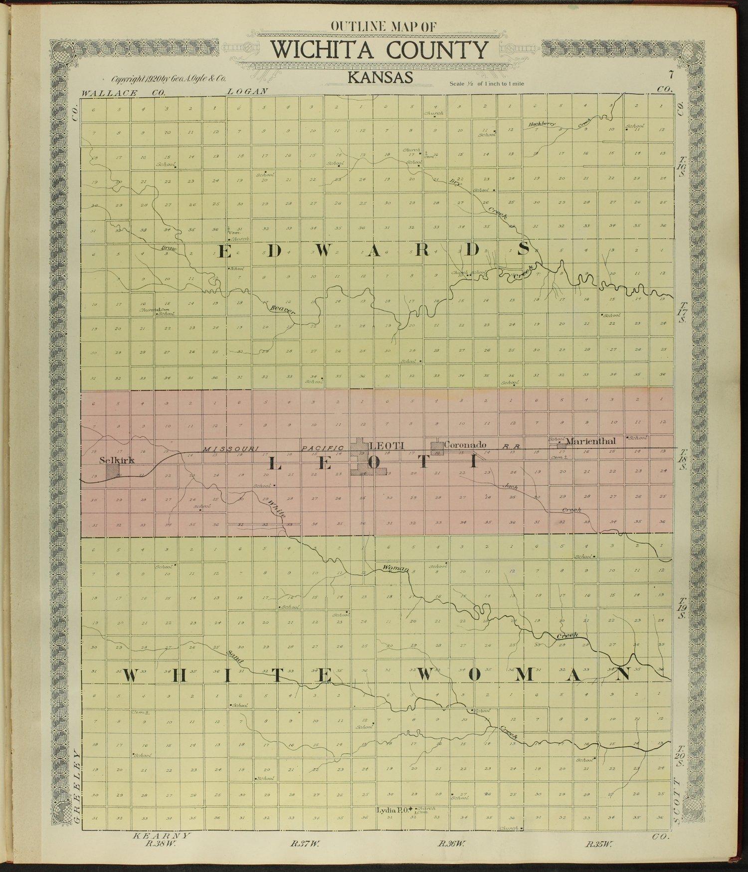 Standard atlas of Wichita County, Kansas - 7