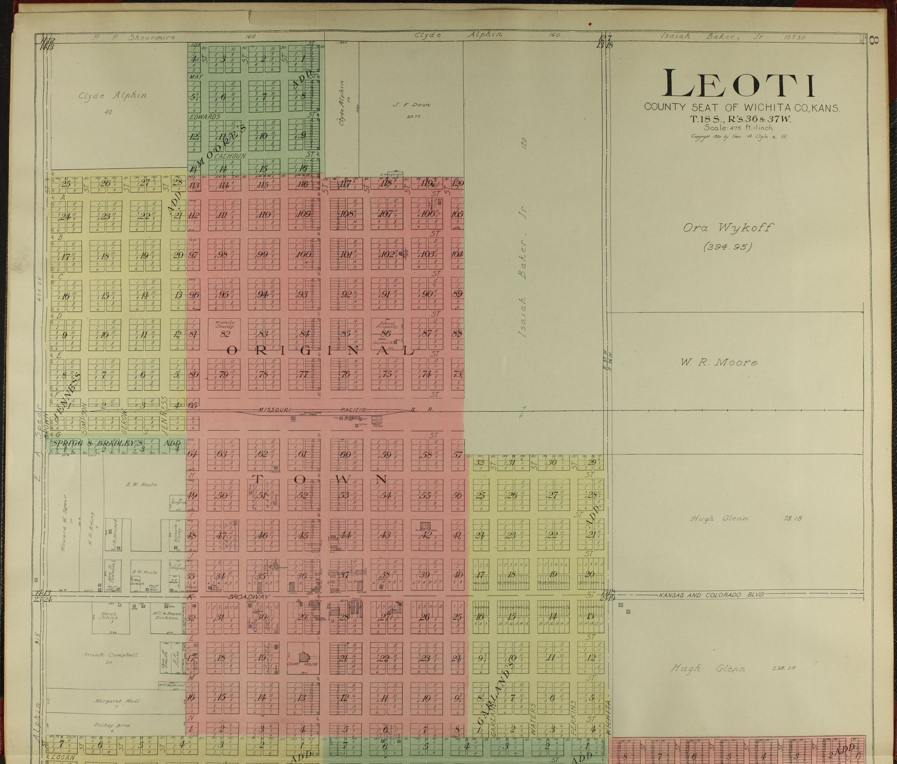 Standard atlas of Wichita County, Kansas - 8