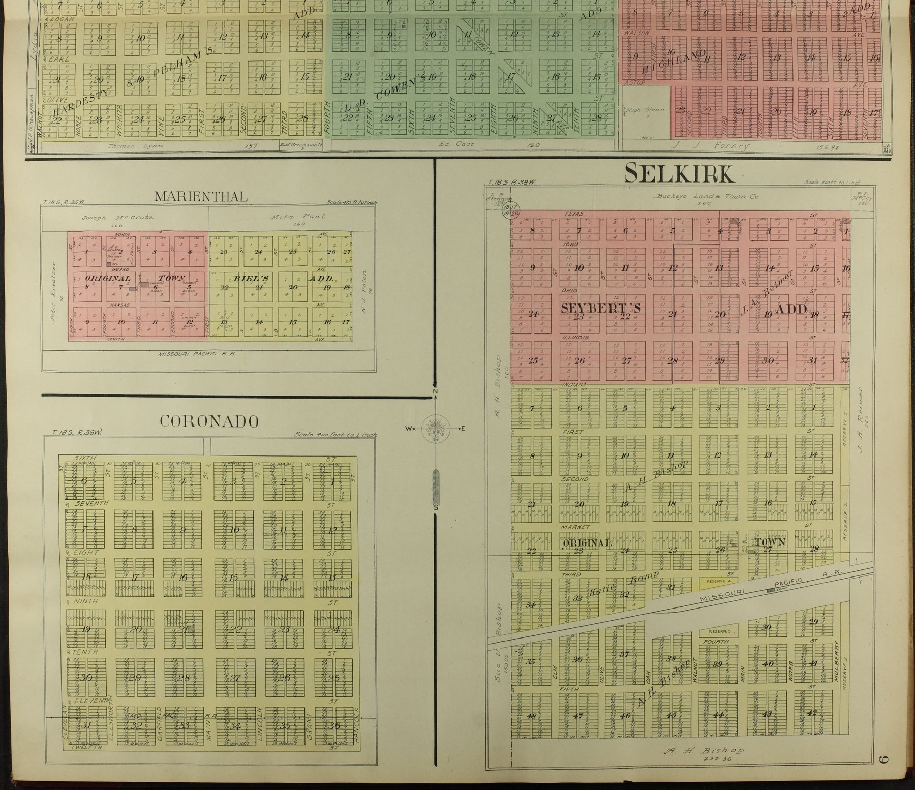 Standard atlas of Wichita County, Kansas - 9