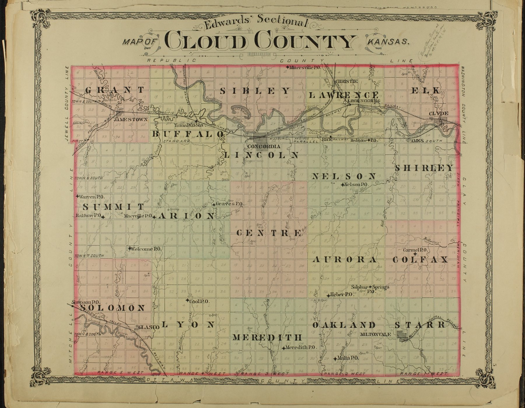 Edward's atlas of Cloud County, Kansas - 5