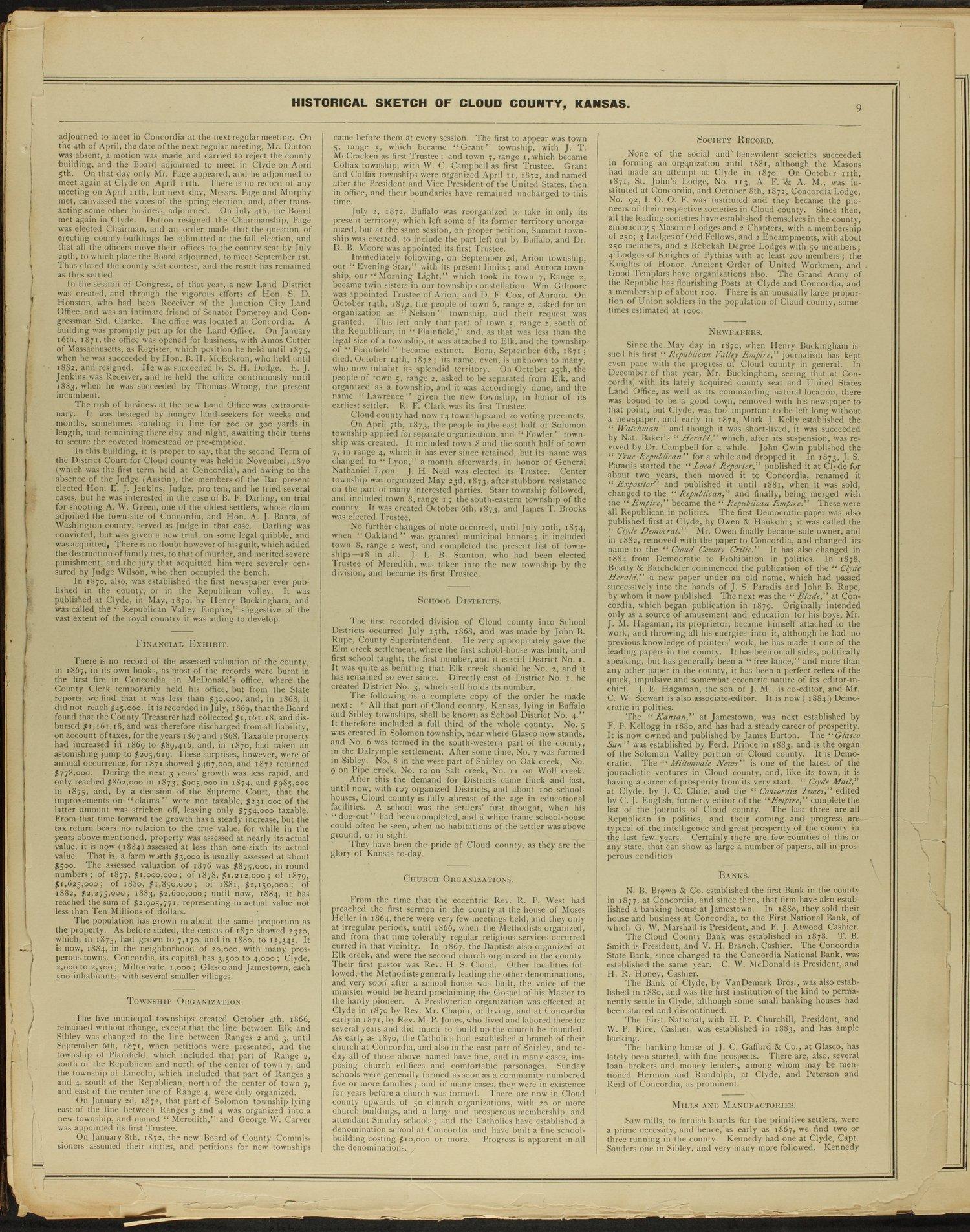 Edward's atlas of Cloud County, Kansas - 9