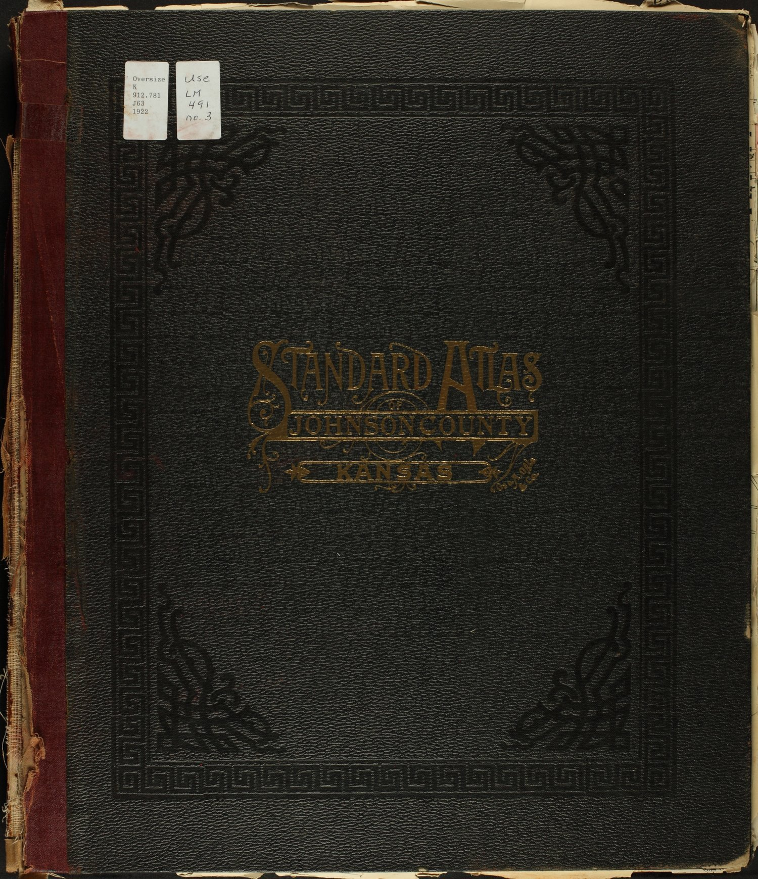 Standard atlas of Johnson County, Kansas - Front Cover