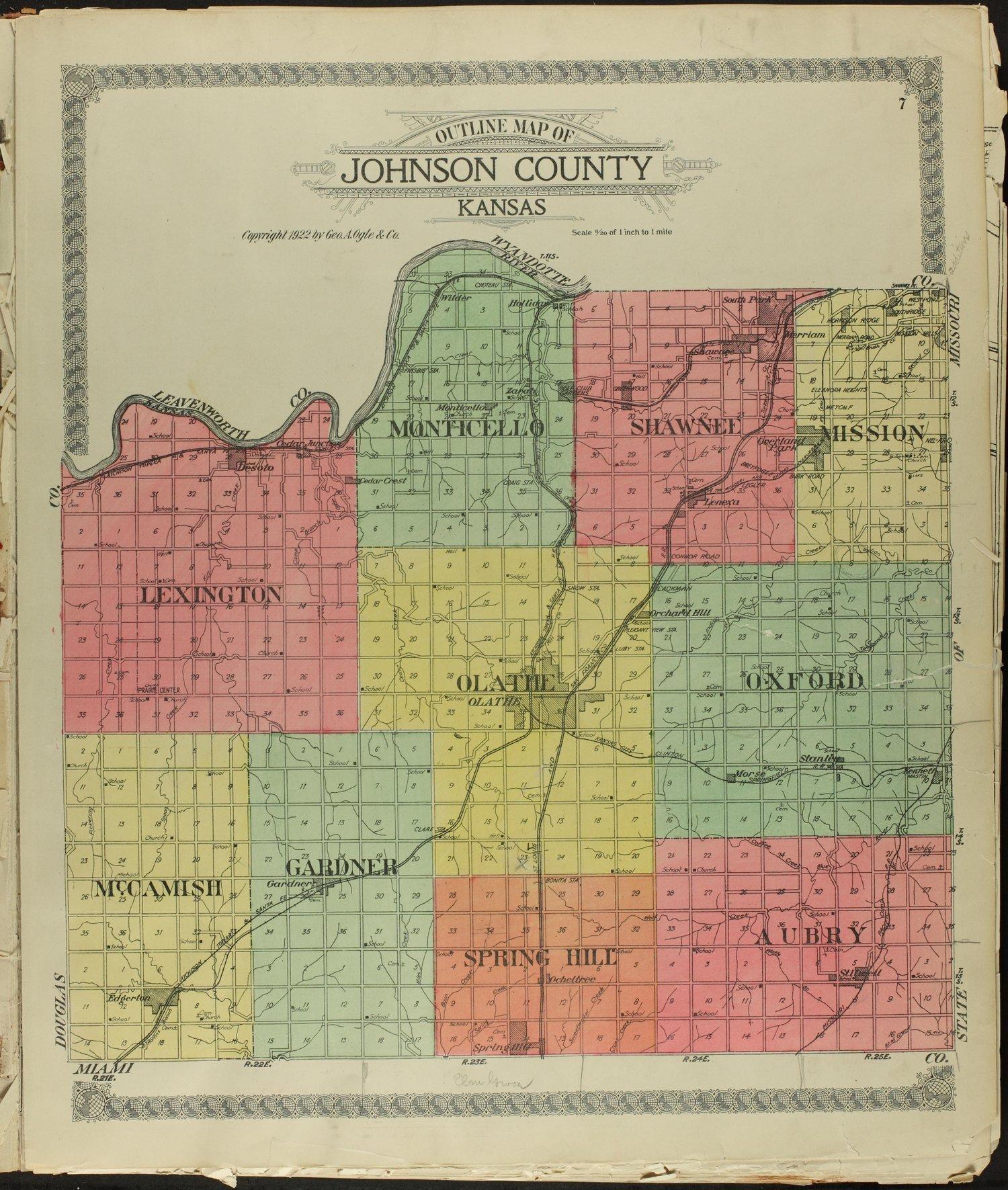 Standard atlas of Johnson County, Kansas - 7