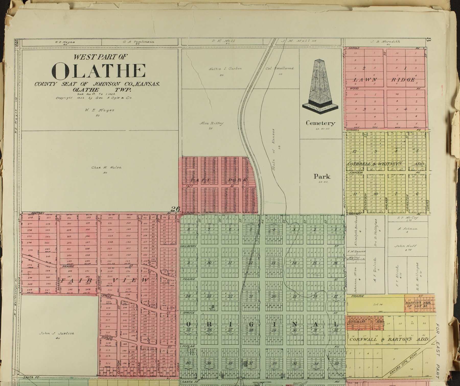 Standard atlas of Johnson County, Kansas - 8