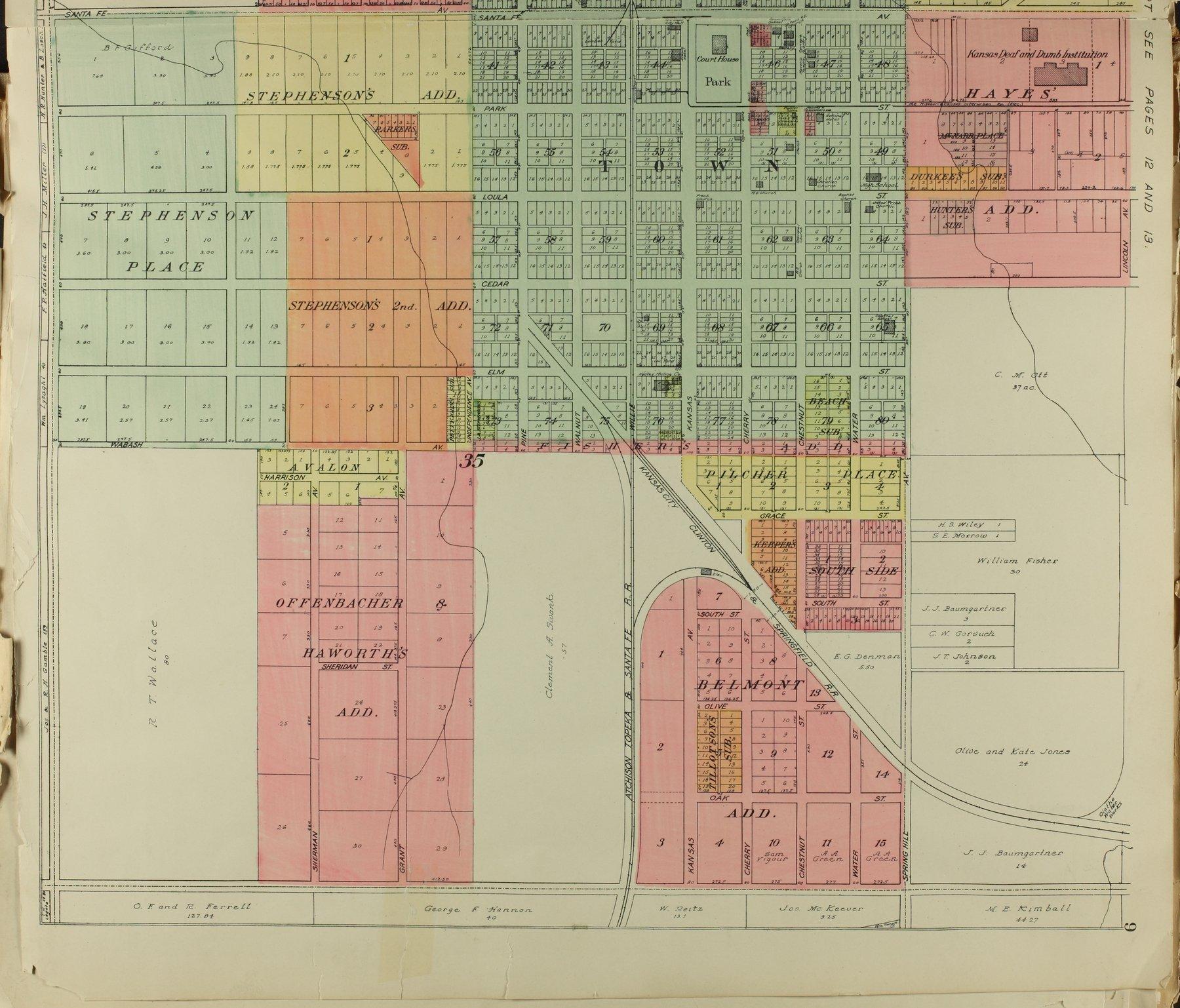 Standard atlas of Johnson County, Kansas - 9