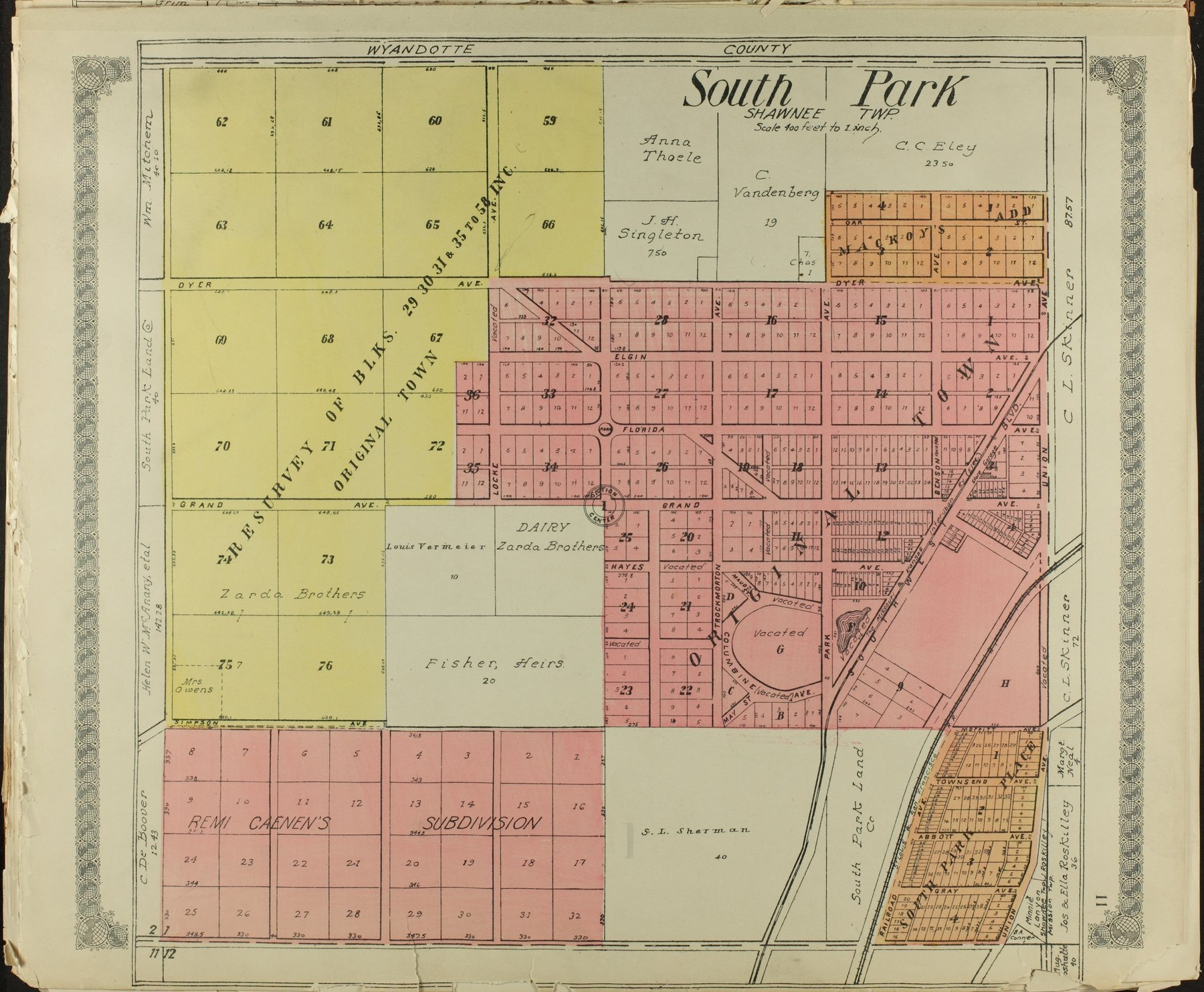 Standard atlas of Johnson County, Kansas - 11