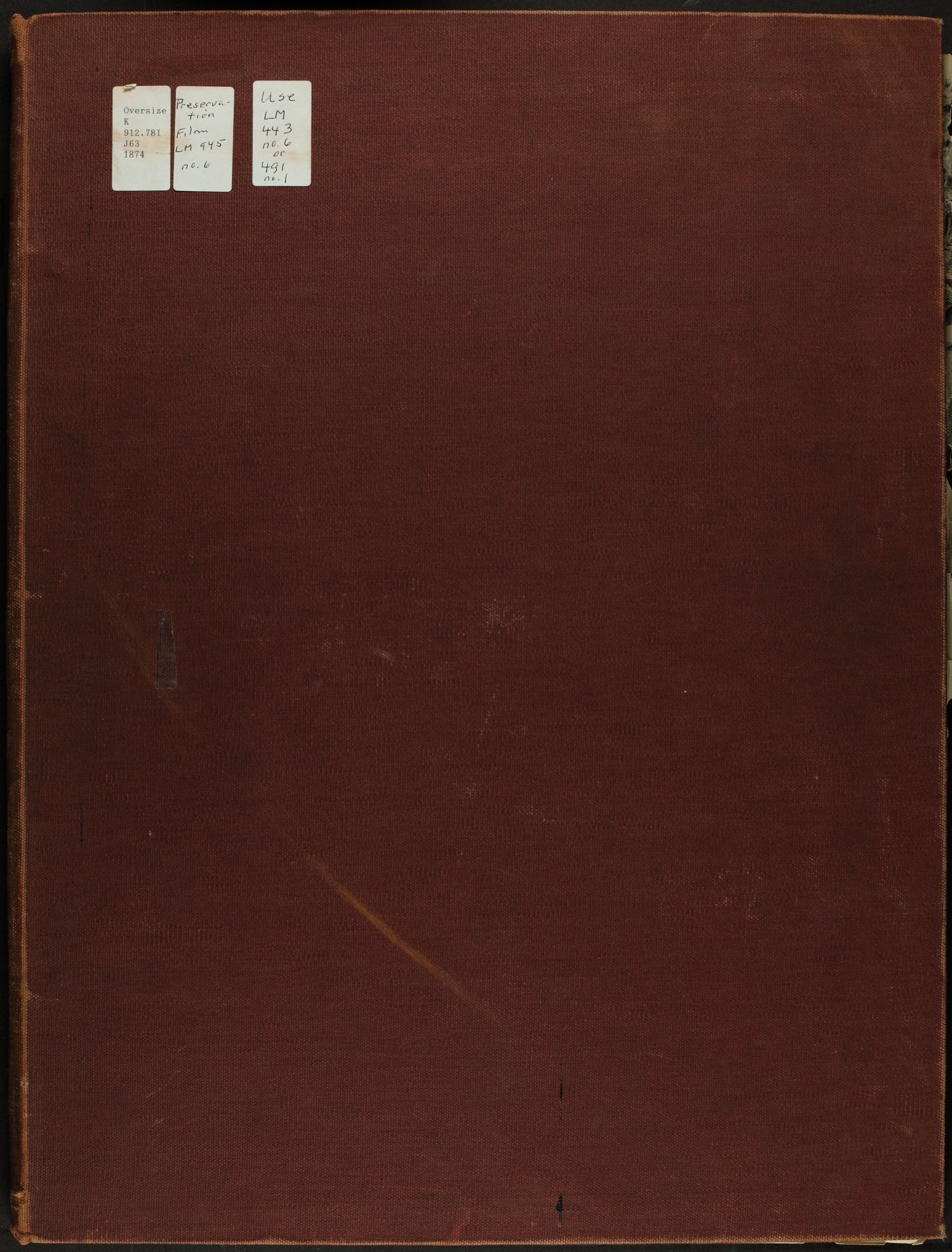 Atlas map of Johnson County, Kansas - Front Cover