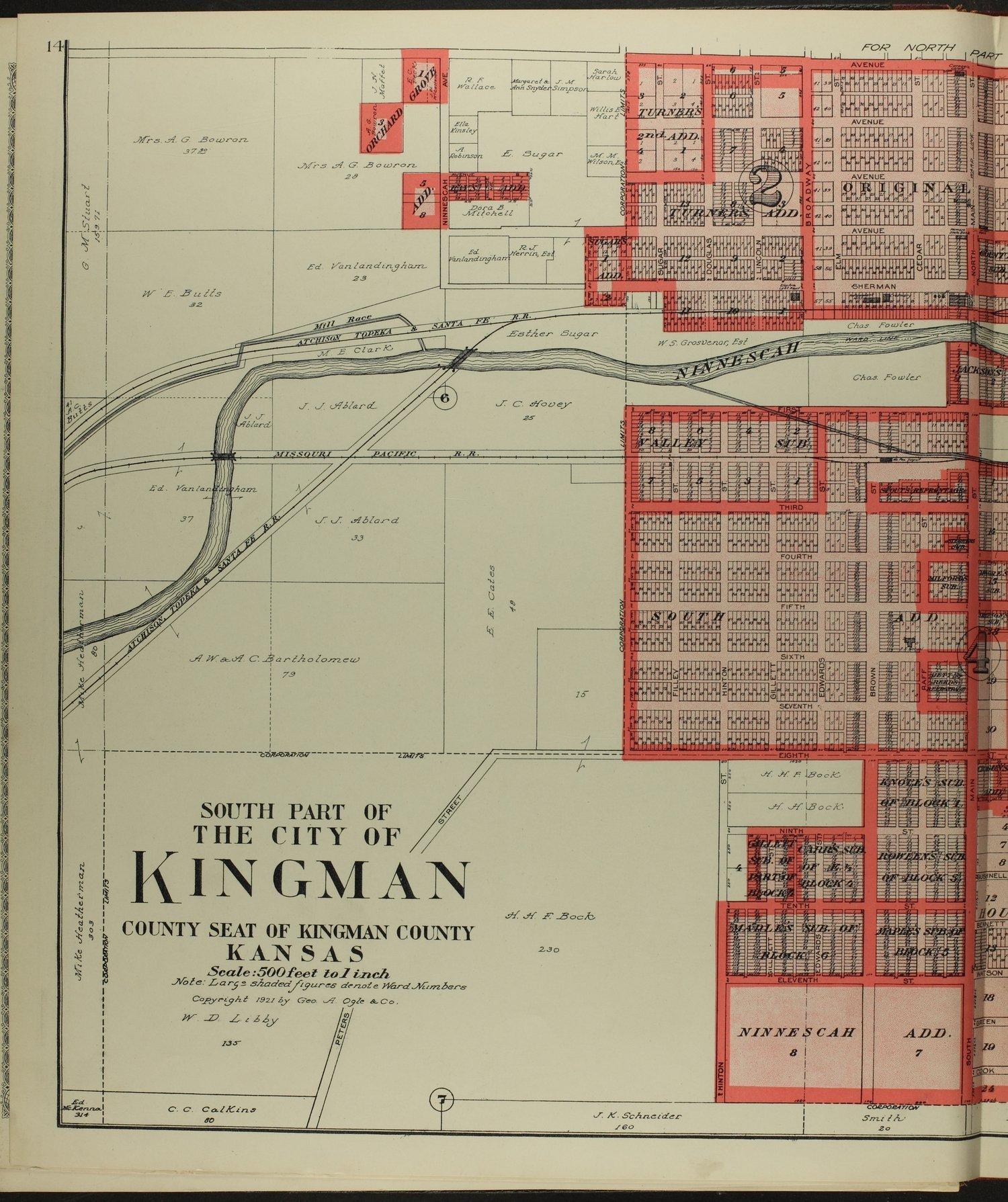 Standard atlas of Kingman County, Kansas - 14