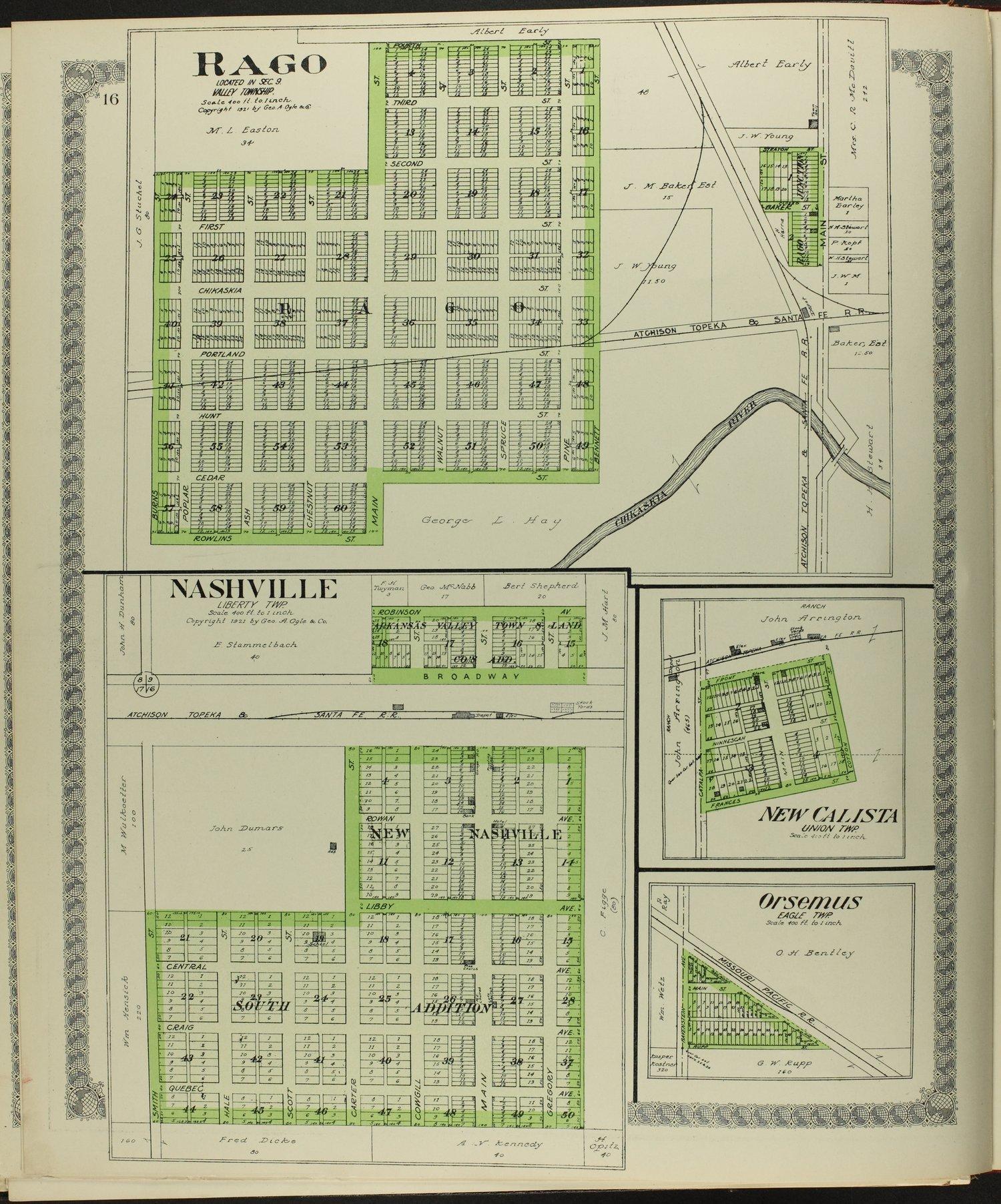 Standard atlas of Kingman County, Kansas - 16