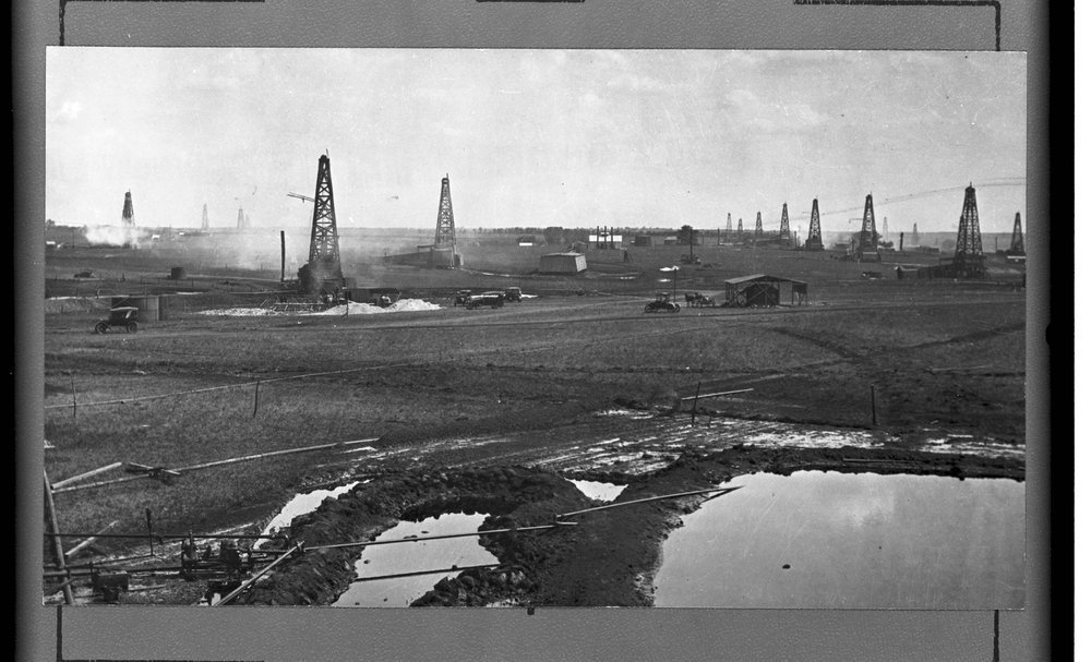 Oil field, El Dorado, Kansas