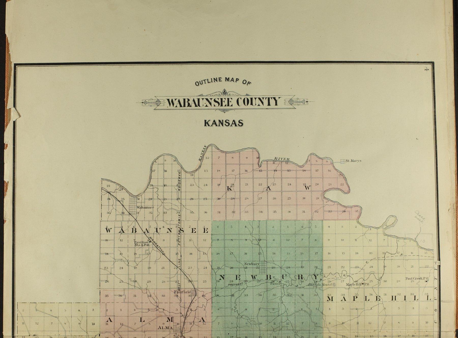 Atlas of Wabaunsee County, Kansas - 4