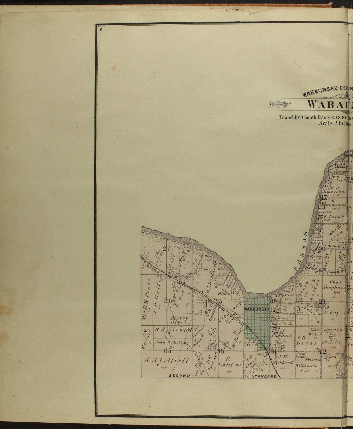 Atlas of Wabaunsee County, Kansas - 6