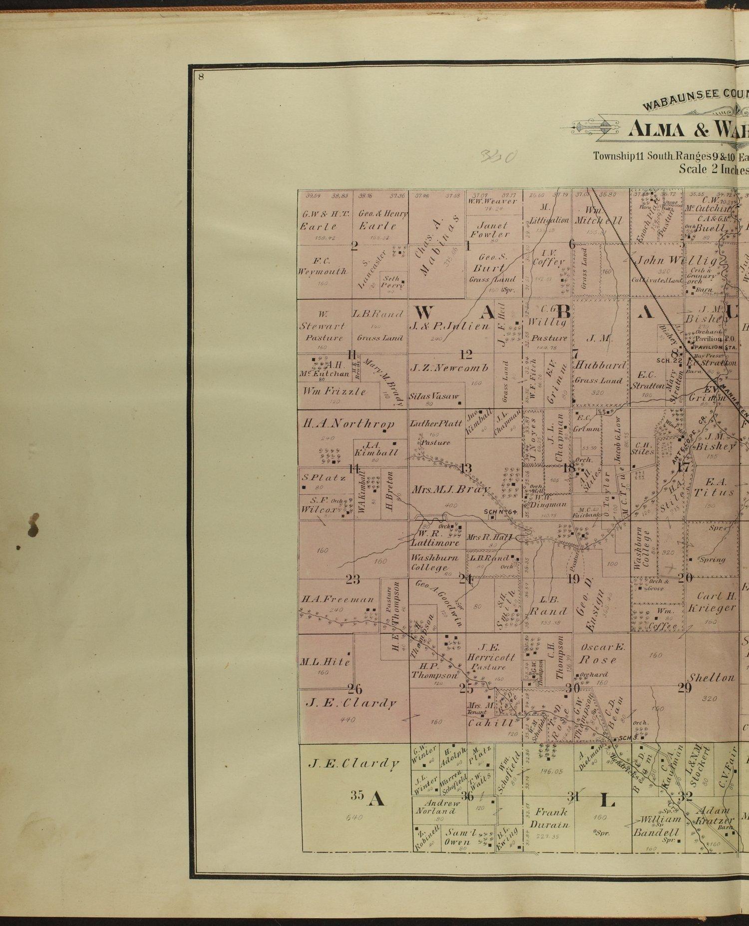 Atlas of Wabaunsee County, Kansas - 8