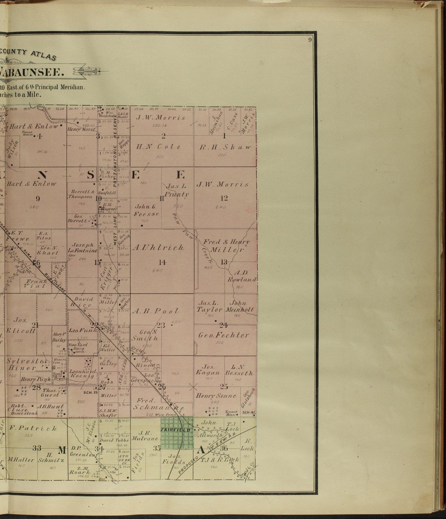Atlas of Wabaunsee County, Kansas - 9