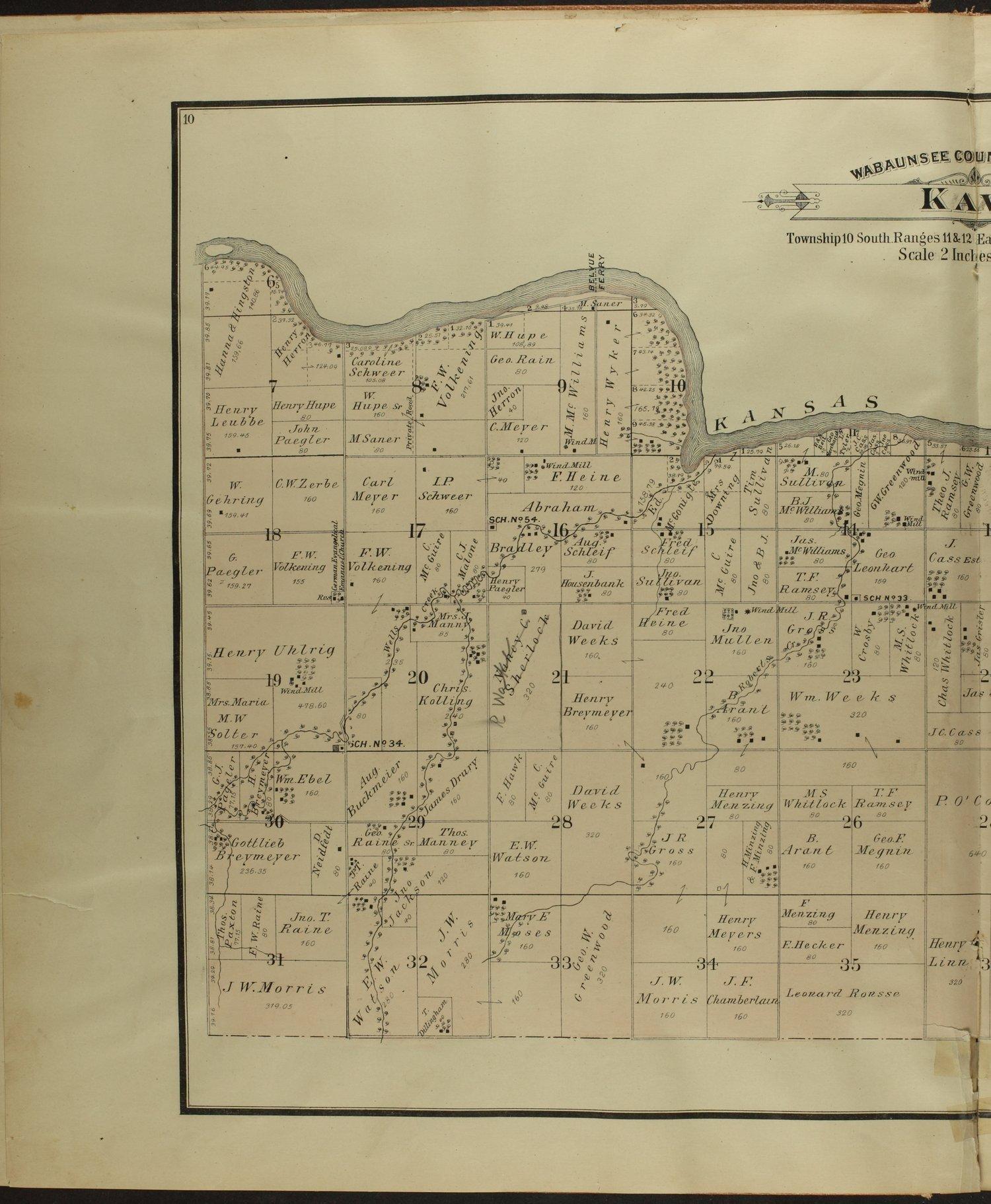 Atlas of Wabaunsee County, Kansas - 10