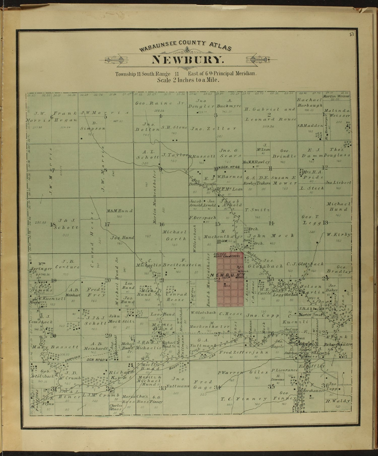 Atlas of Wabaunsee County, Kansas - 13