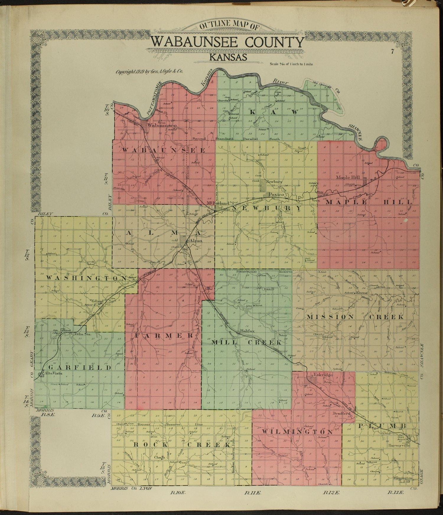 Standard atlas of Wabaunsee County, Kansas - 7