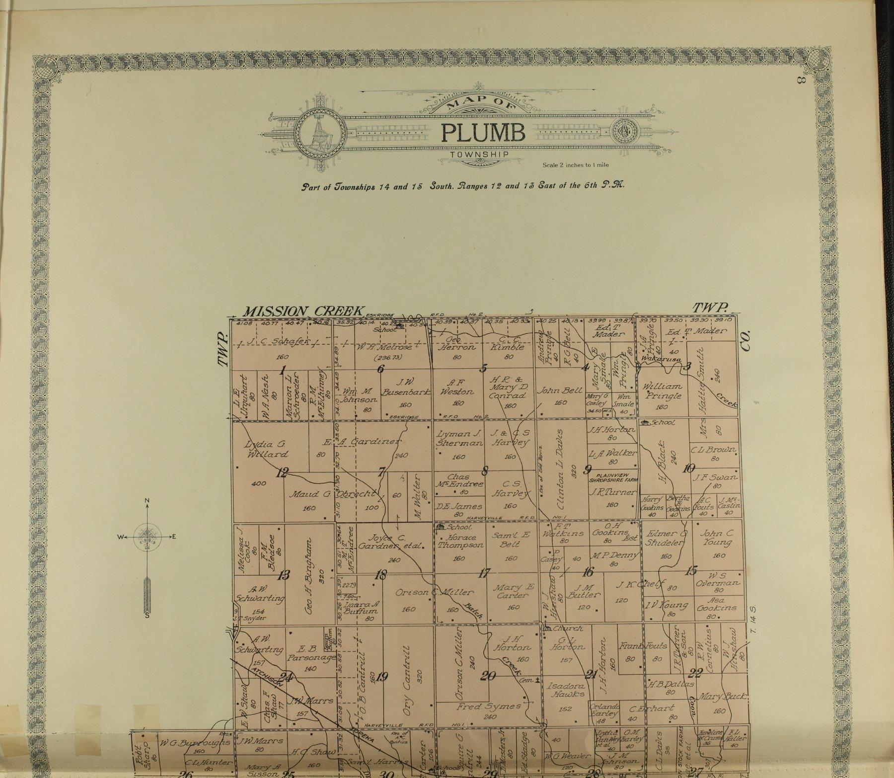 Standard atlas of Wabaunsee County, Kansas - 8