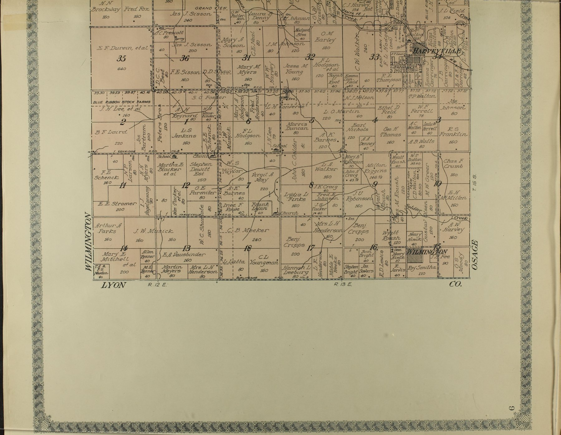 Standard atlas of Wabaunsee County, Kansas - 9