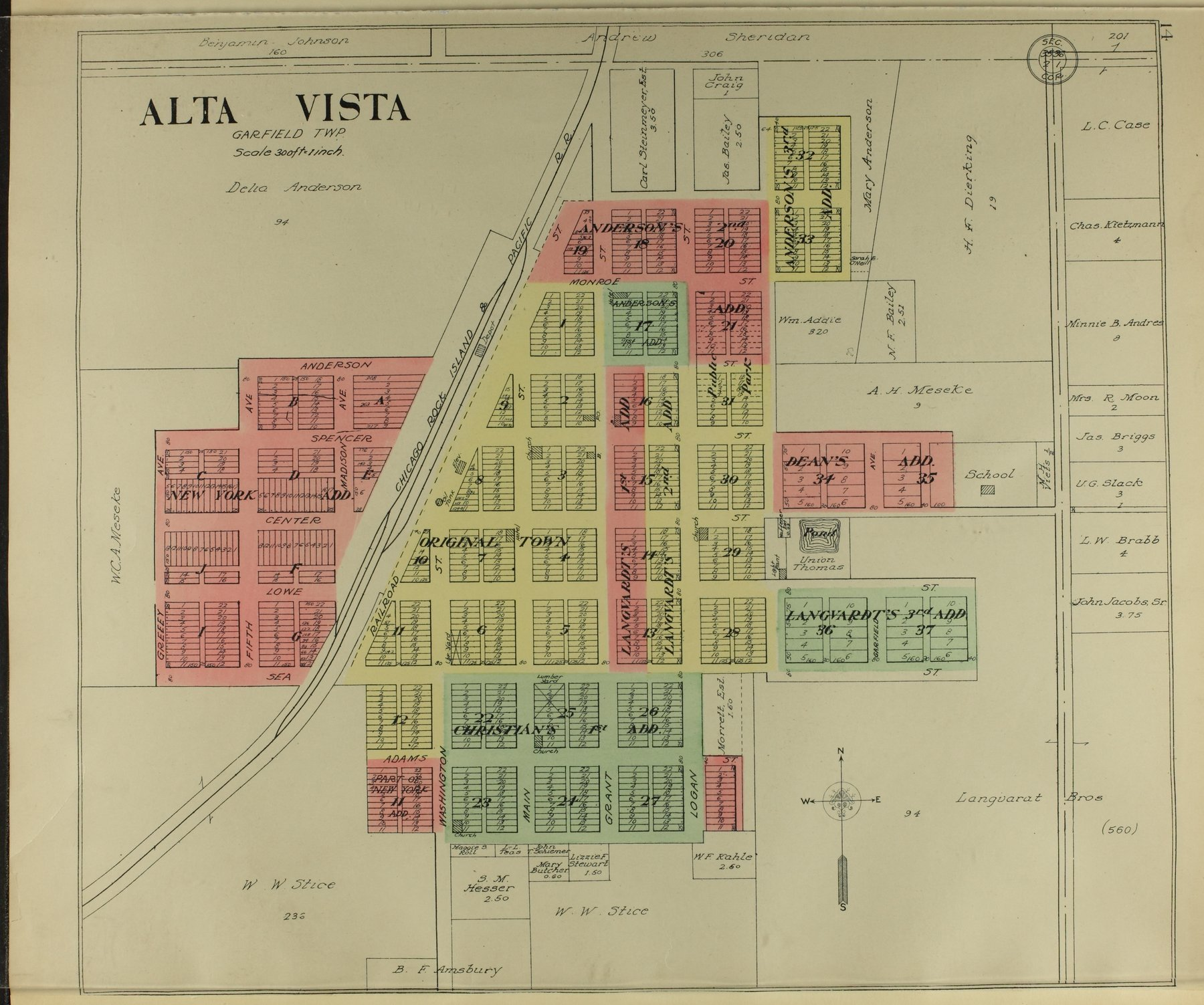 Standard atlas of Wabaunsee County, Kansas - 14