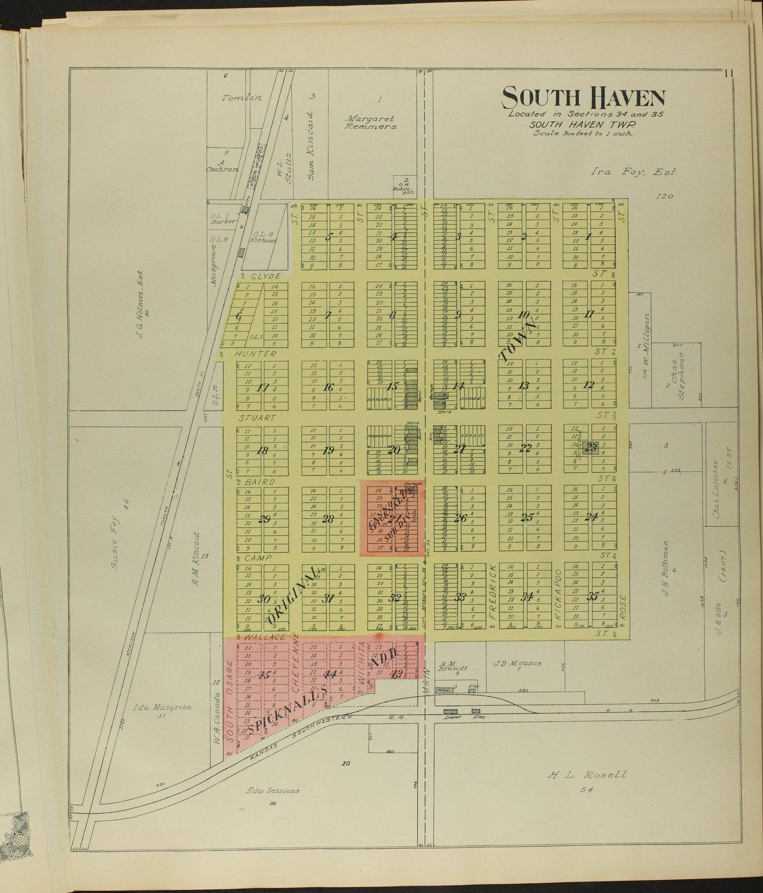 Standard atlas of Sumner County, Kansas - 11