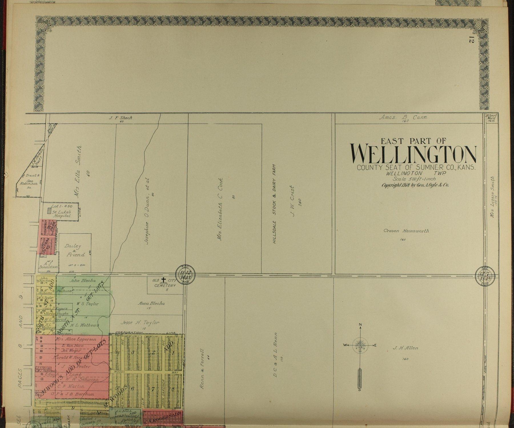 Standard atlas of Sumner County, Kansas - 12