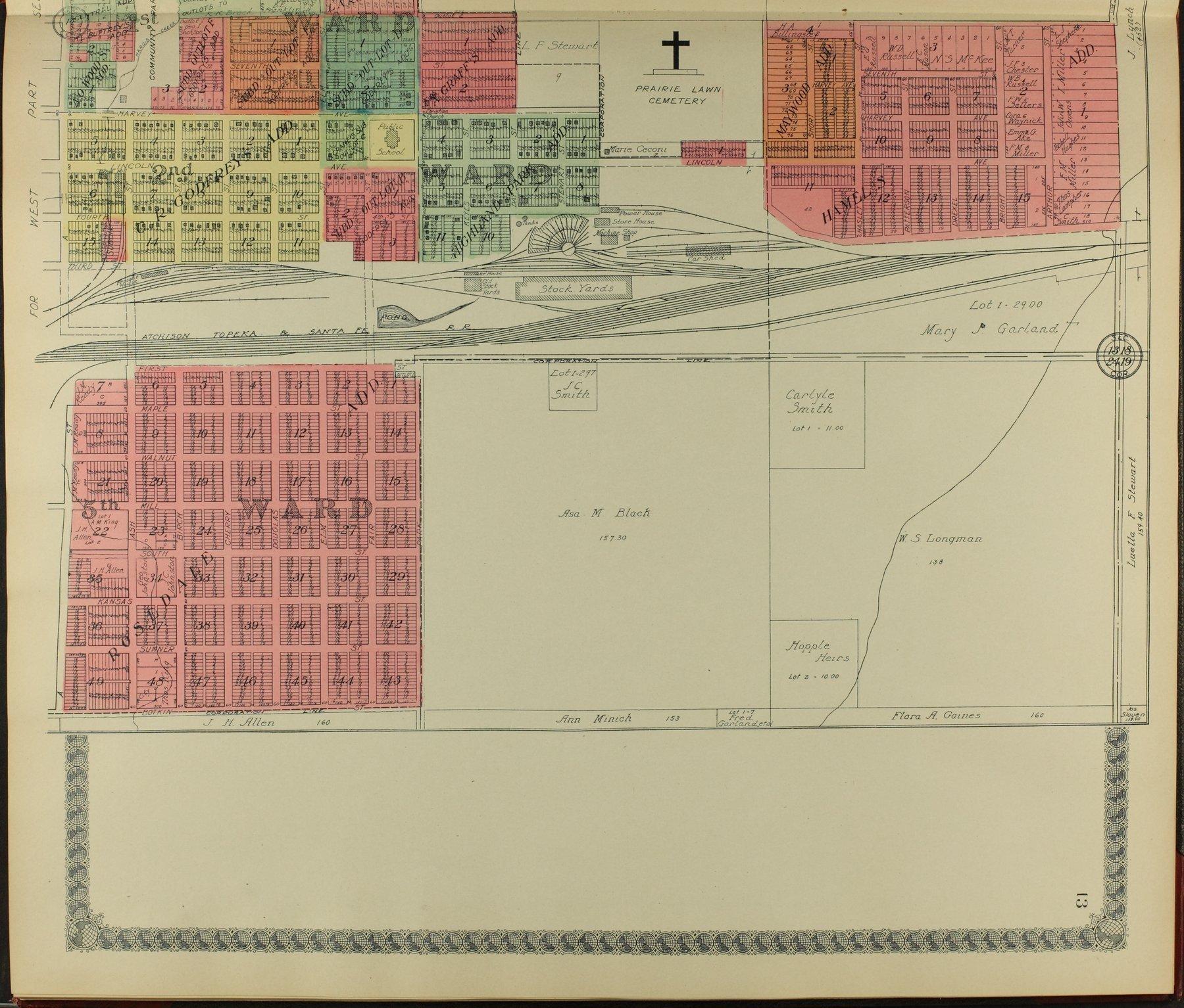 Standard atlas of Sumner County, Kansas - 13