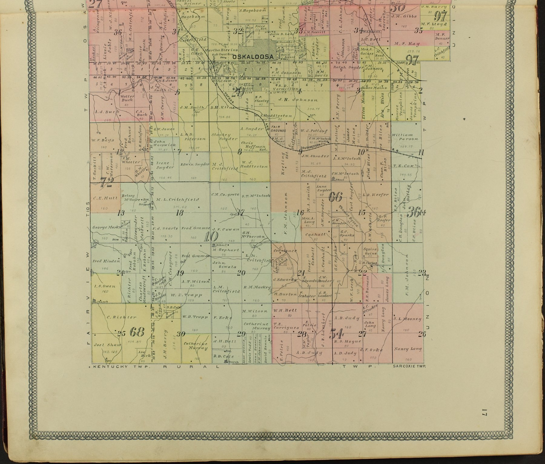 Descriptive atlas of Jefferson County, Kansas - 17