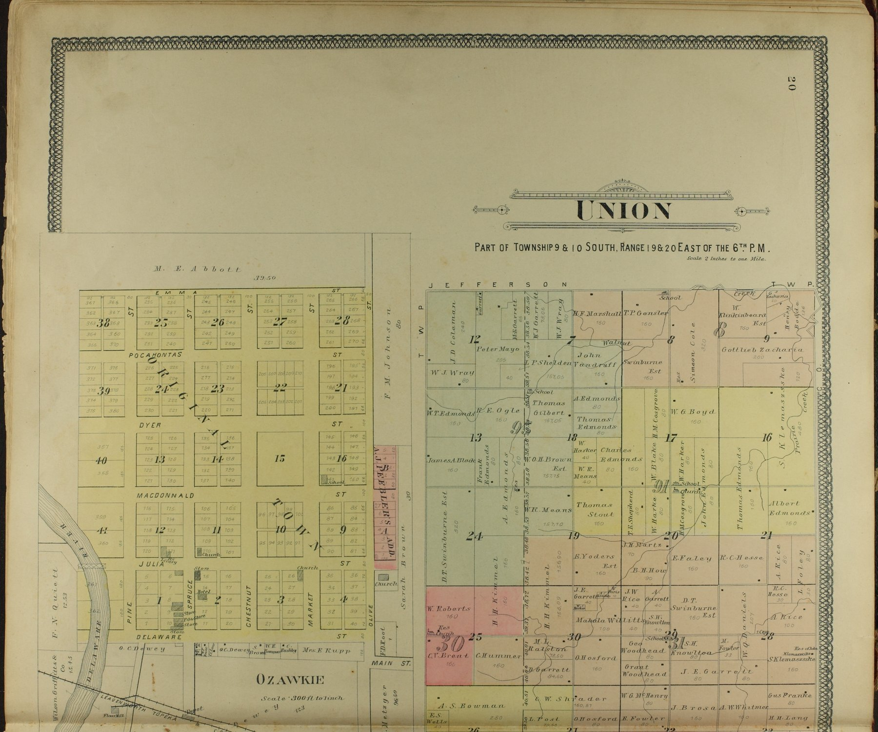 Descriptive atlas of Jefferson County, Kansas - 20