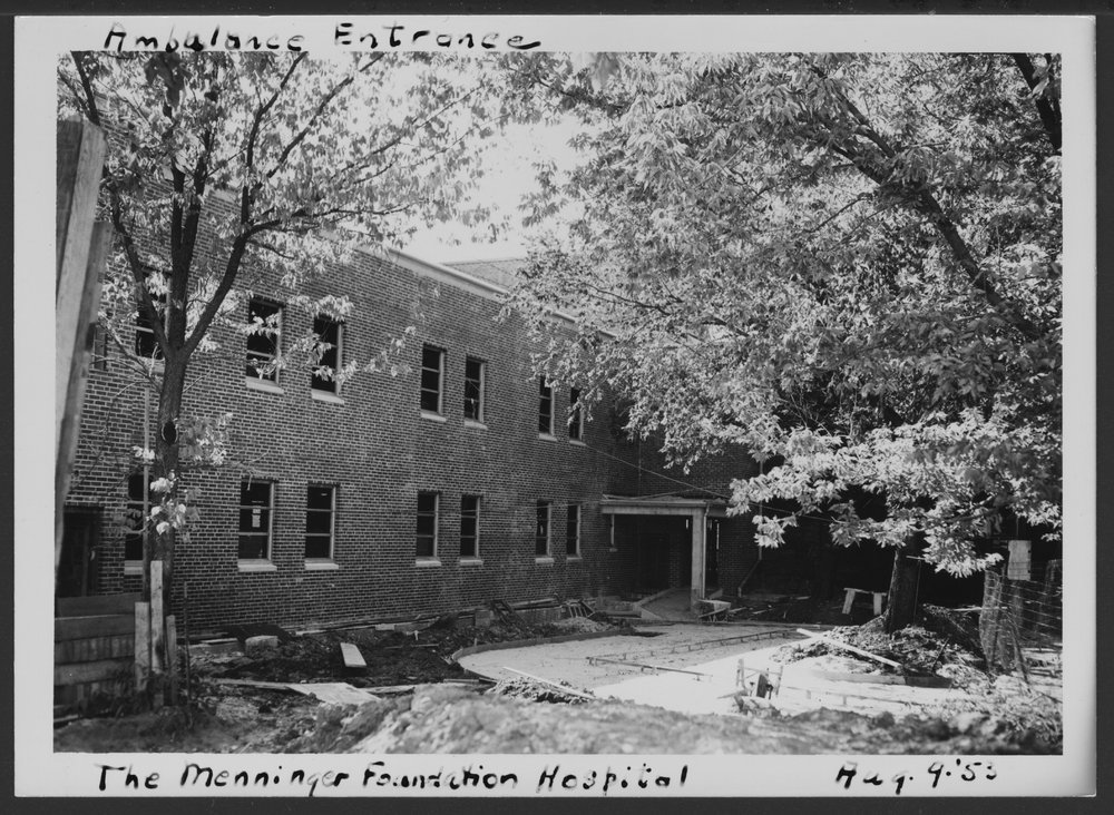 Construction of the C.F. Menninger Memorial Hospital in Topeka Kansas - 3