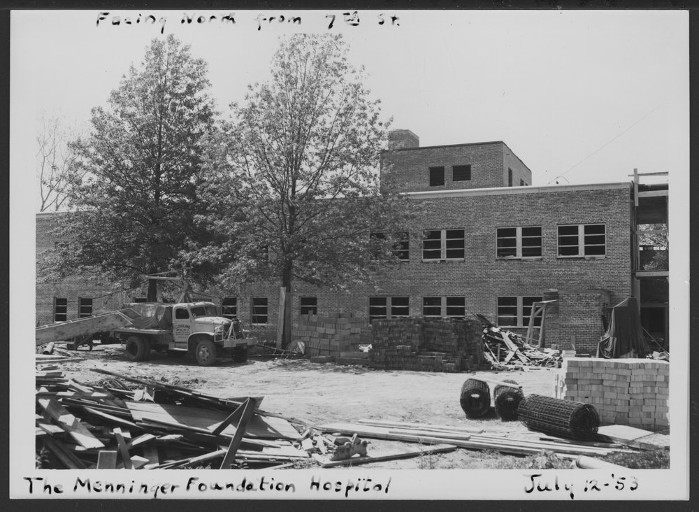 Construction of the C.F. Menninger Memorial Hospital in Topeka Kansas - 7