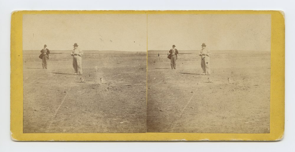 The mayor of Prairie dog town, Abilene, Kansas. 447 miles west of St. Louis Mo. - 1