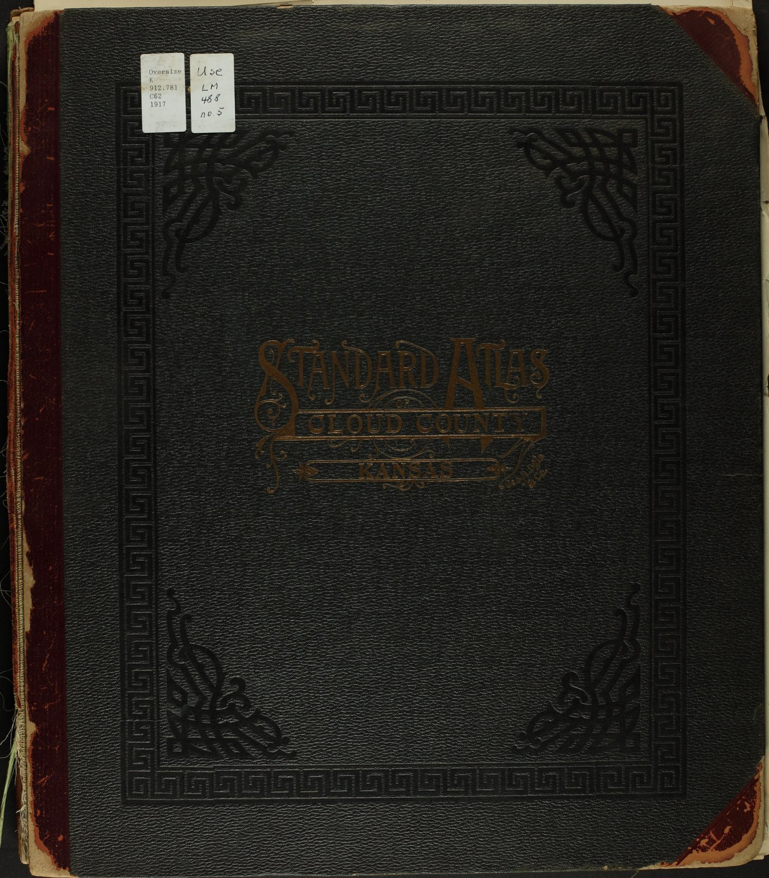 Standard atlas of Cloud County, Kansas - Front Cover