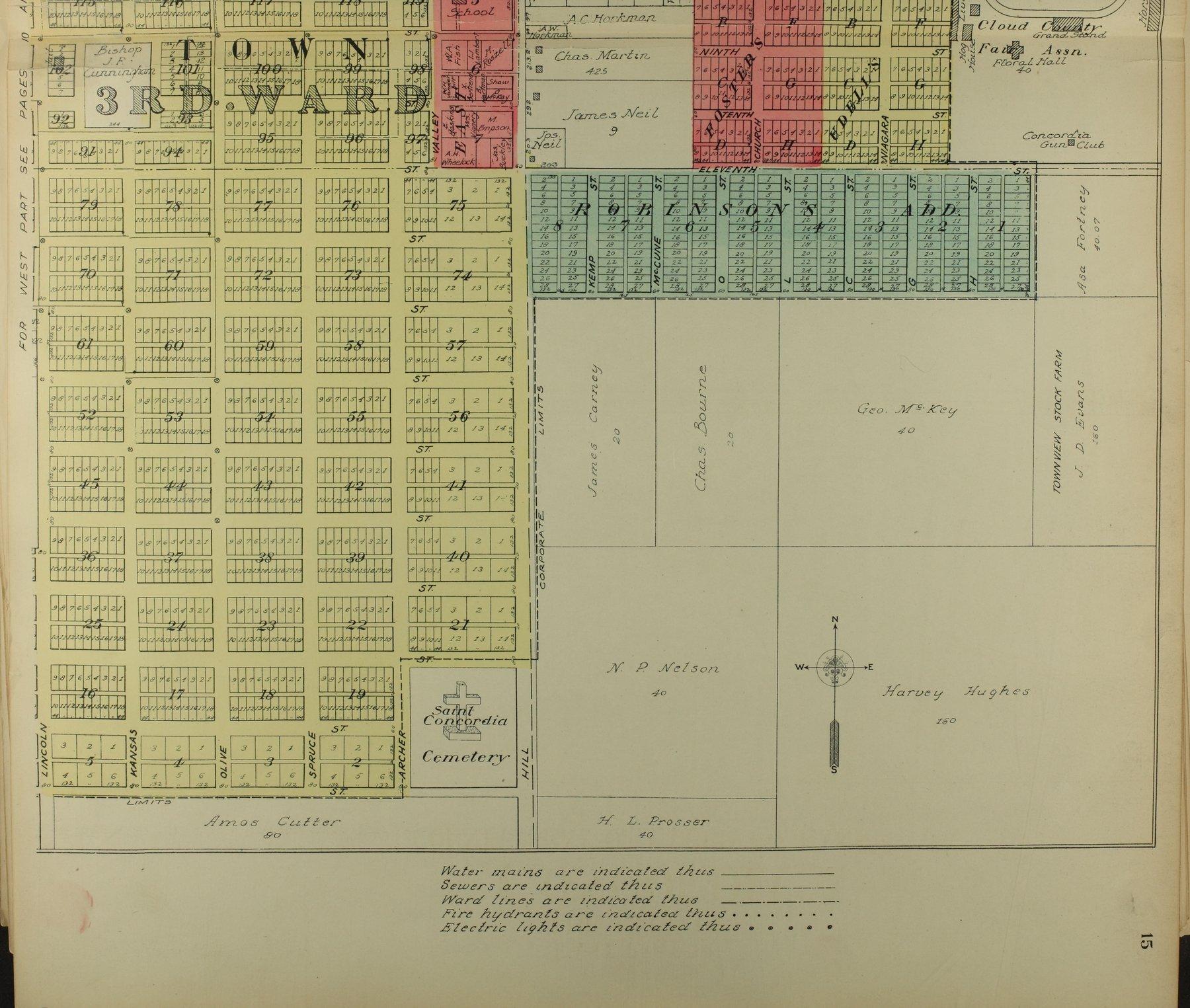 Standard atlas of Cloud County, Kansas - 15